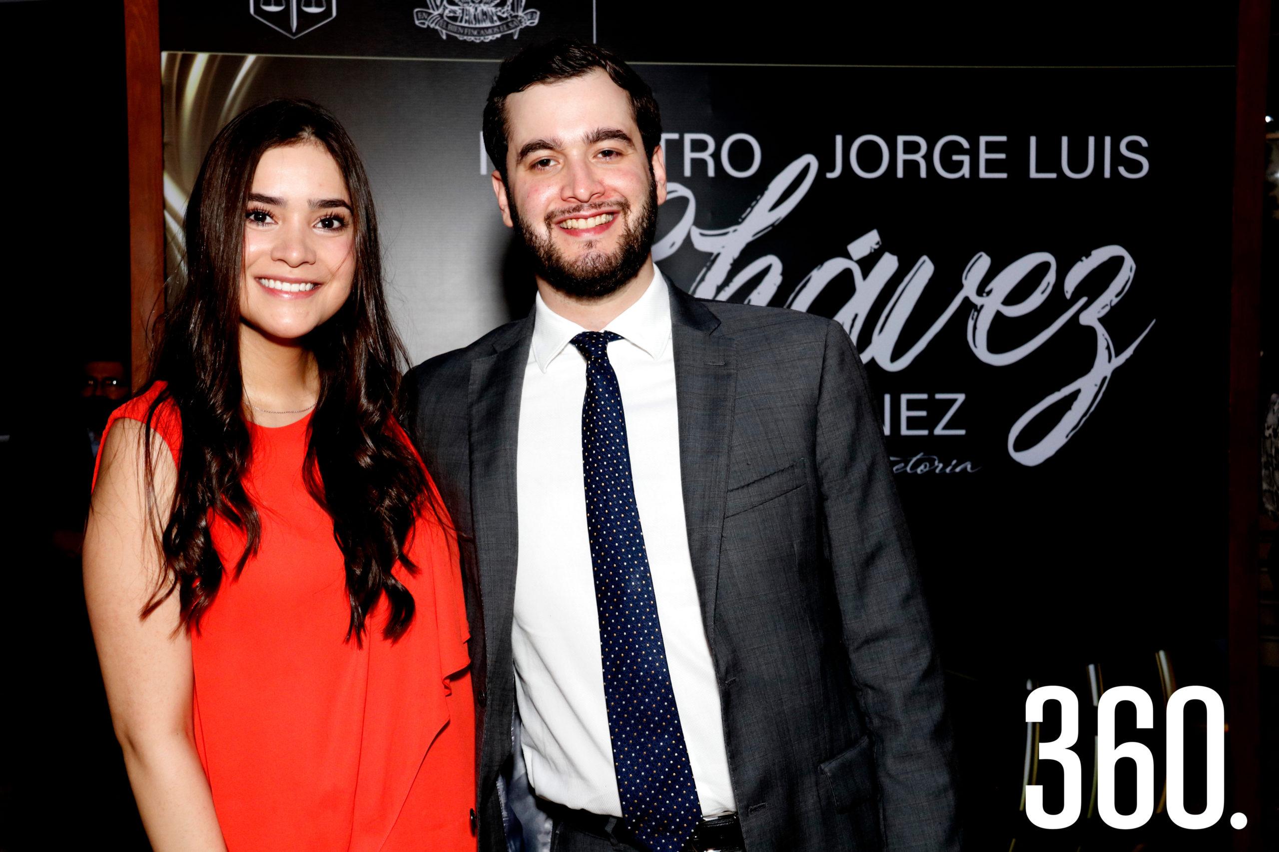 Sofía Alejandra Chávez y Federico del Río.