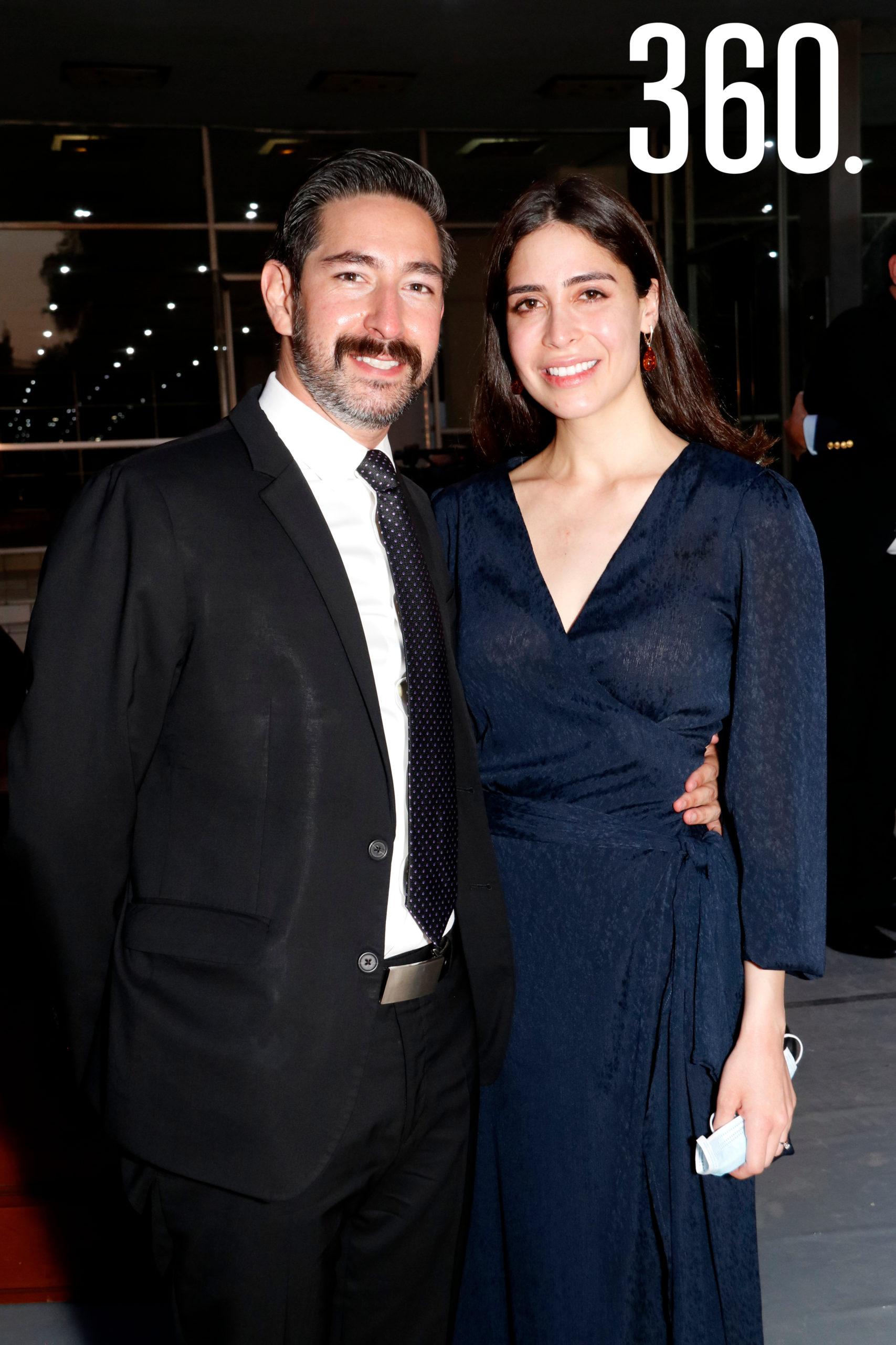 Luis Fernando Valdés y Ana Leticia Chávez.