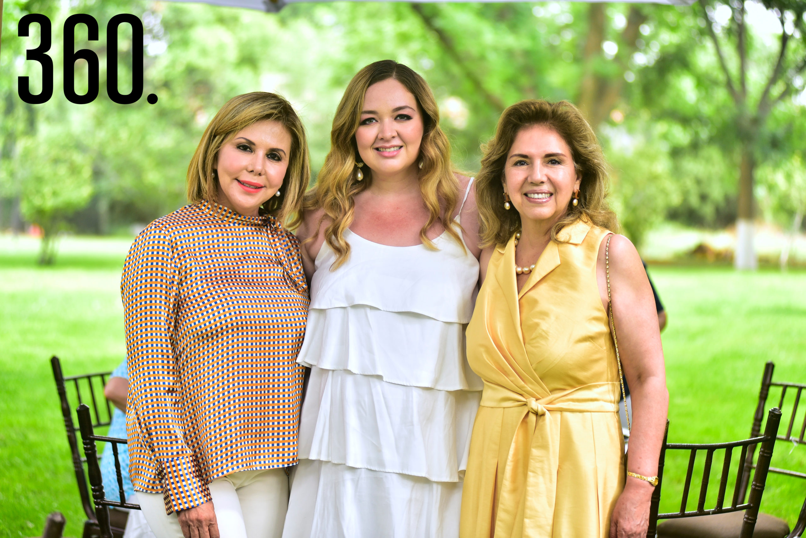 Laura Rivera, Carla Verduzco y Lucila Ruiz.
