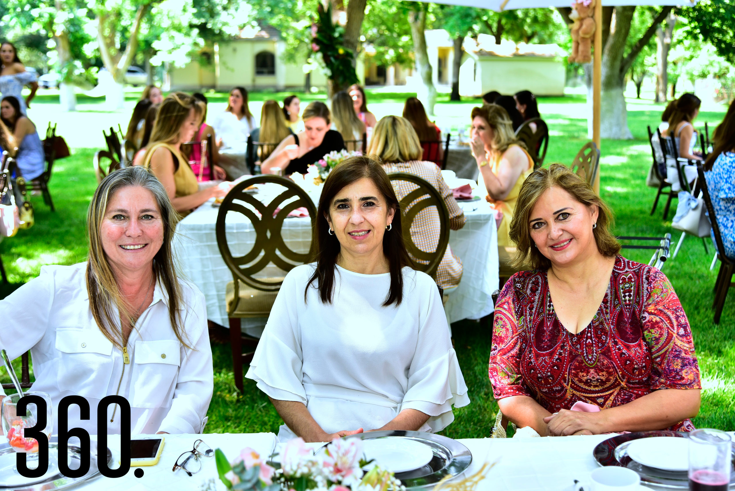 Zulema Melo, Paulina y Ana María Melo.