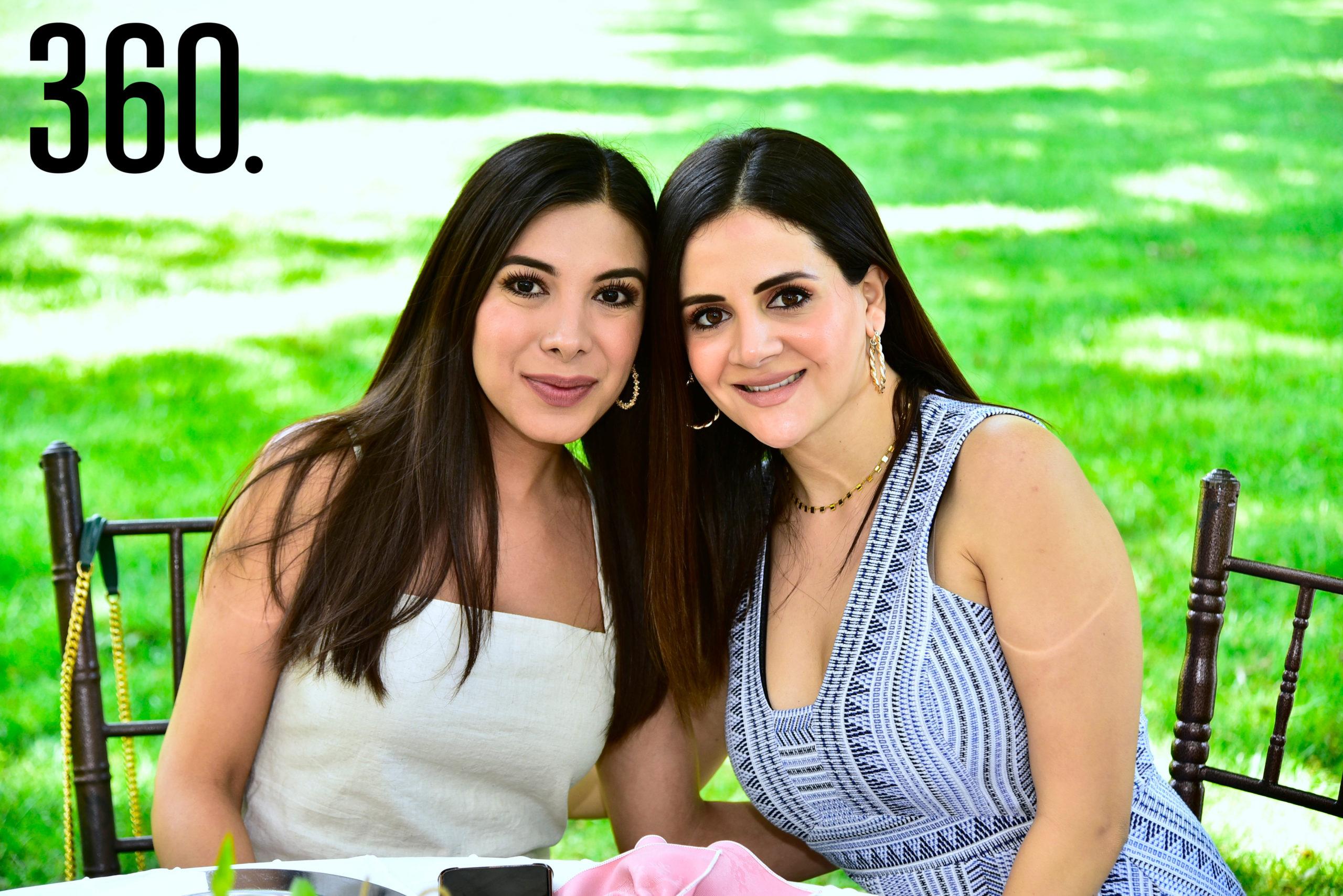 Gabriela Dainitin y Scarlett Juanmarcos.