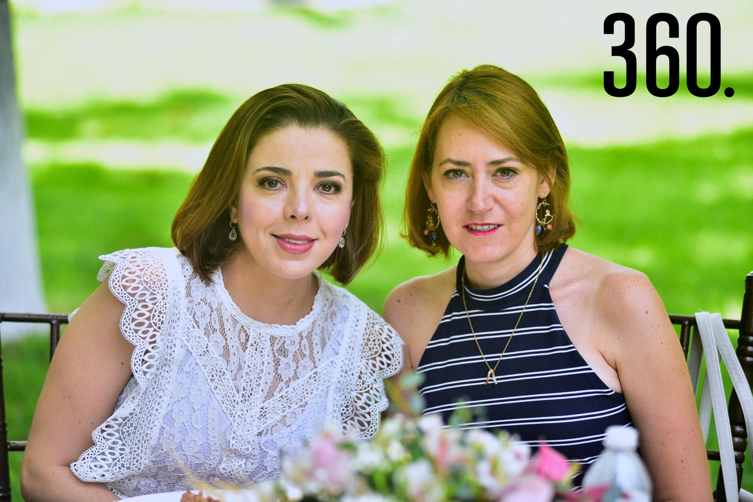 Cynthia Cárdenas y Ale Macías.