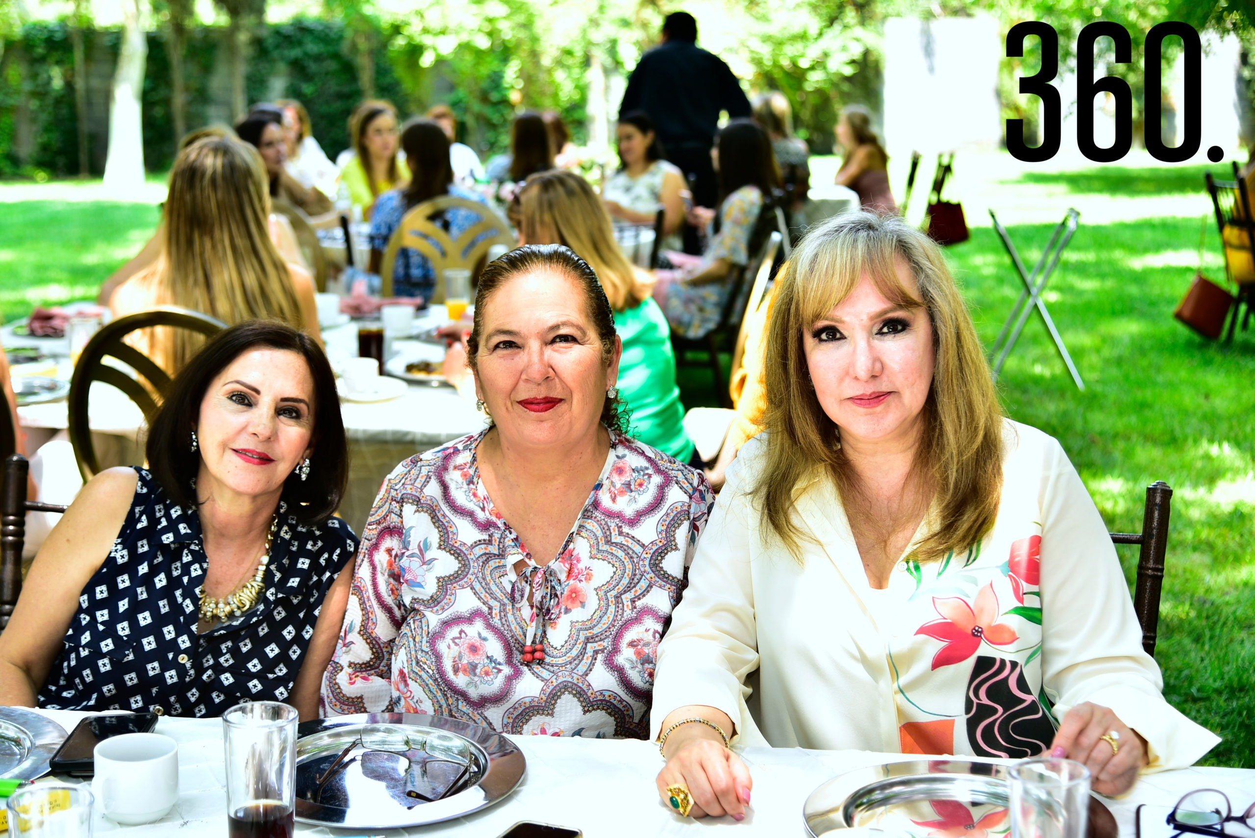 Adriana Cantú, Ana Laura Durón y Miriam Cárdenas.