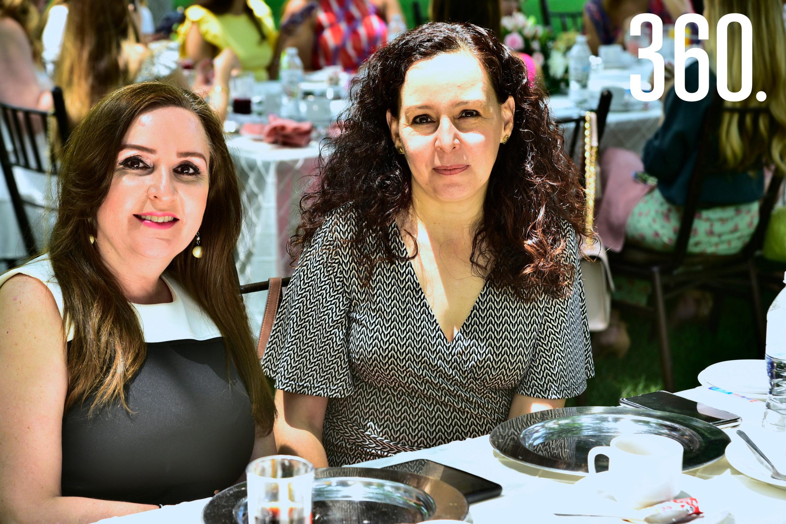 Olga Monroy y Erika Escamilla de García.