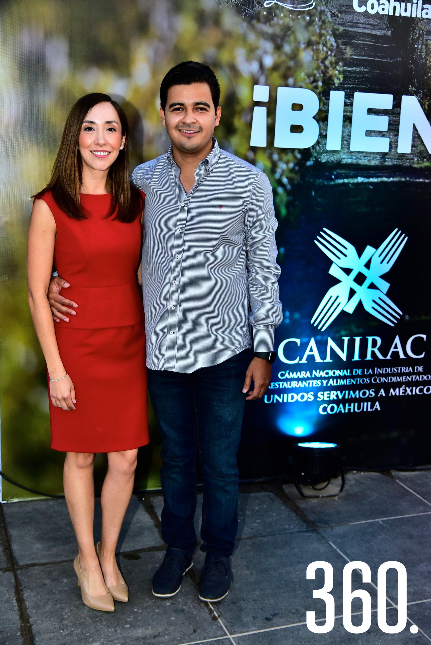 Miriam Luna y Eder López.