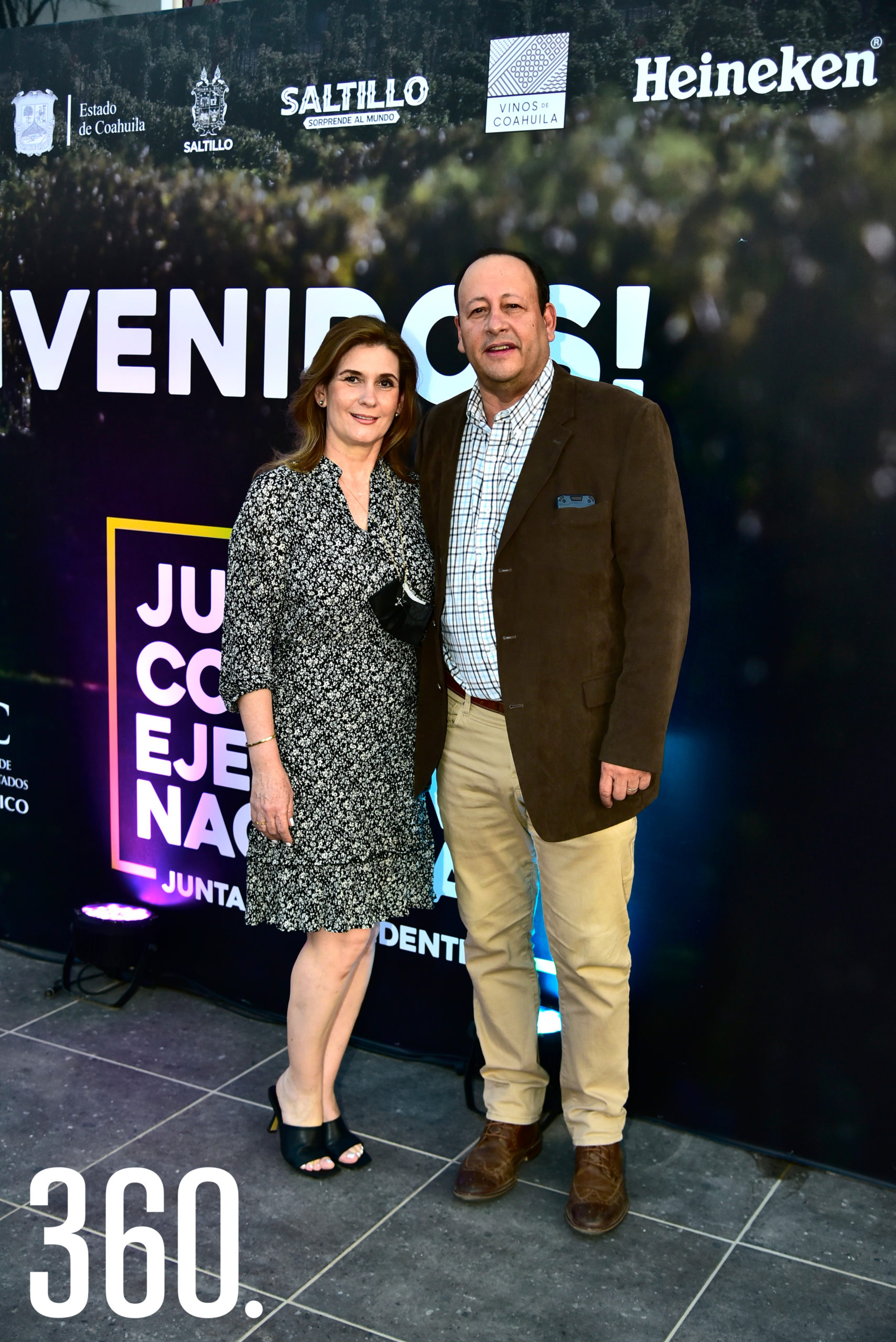 Verónica de Lira y Manuel Lira.