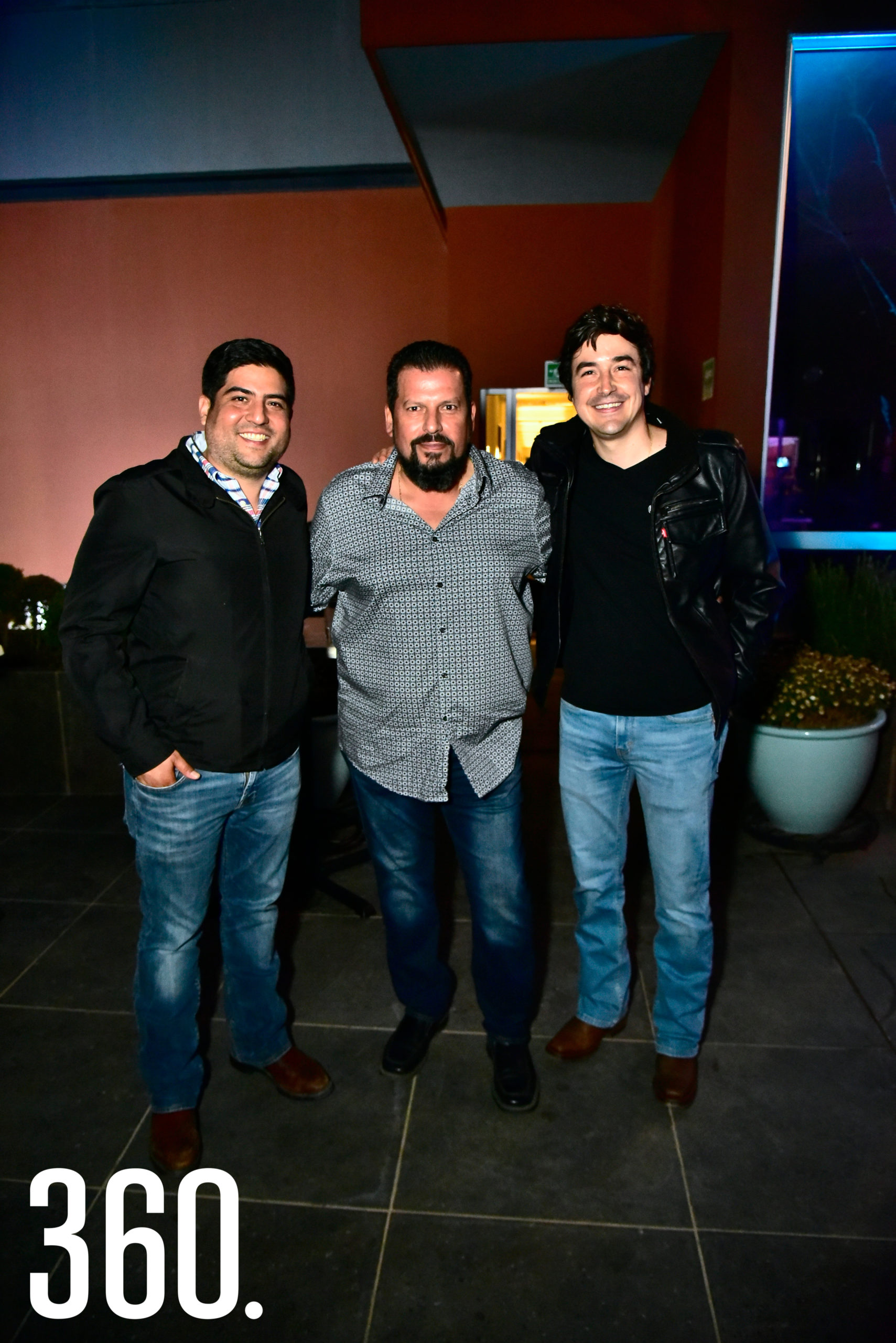 Juan Pablo Valdés, Sergio Treviño y Javier Alanís.