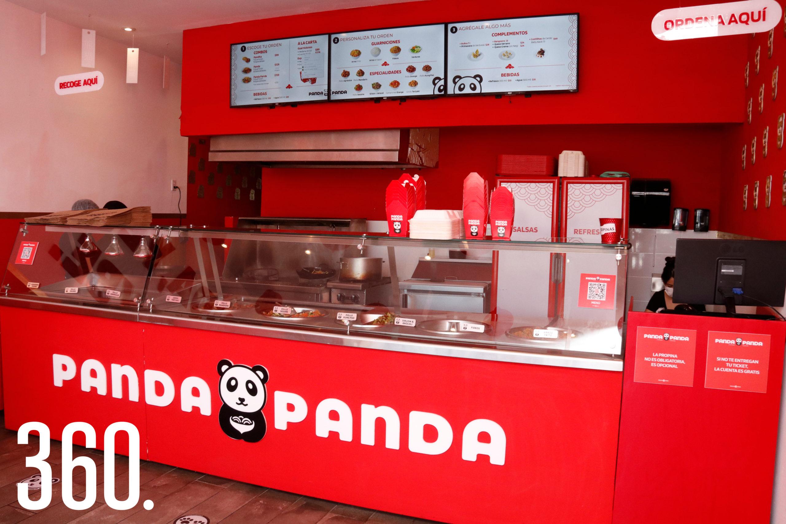 Panda Panda, restaurante de comida china, ubicado en Plaza Cocoa.
