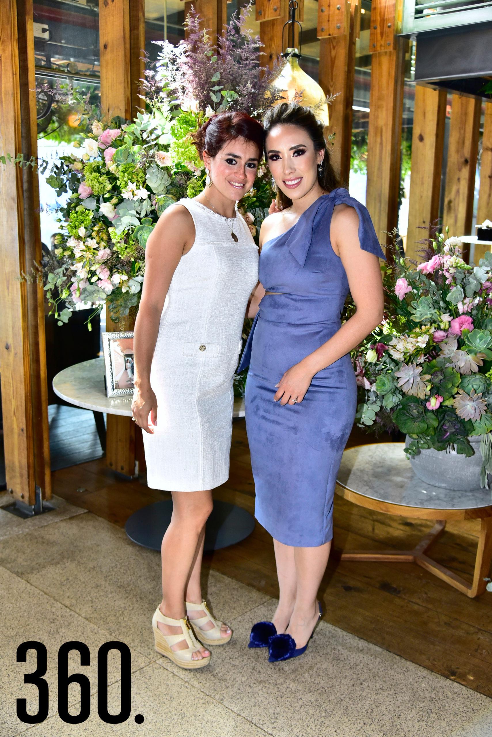 Pamela Villarreal y Lorena Villanueva.