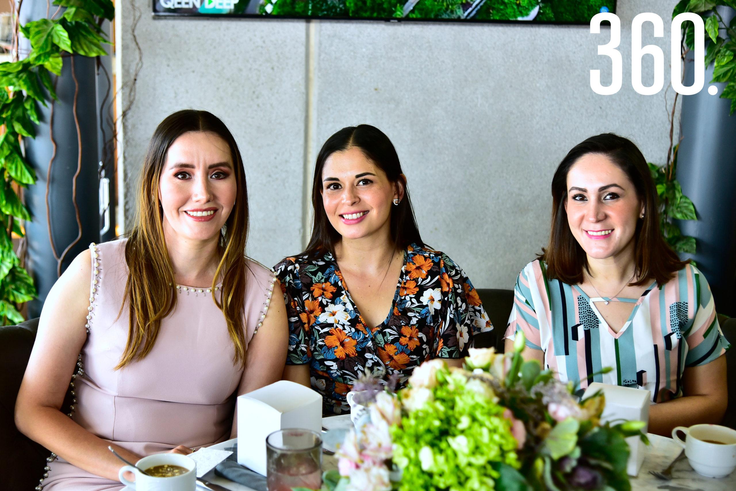 Nadia Villanueva, Sonia Garza y Brenda Hernández.