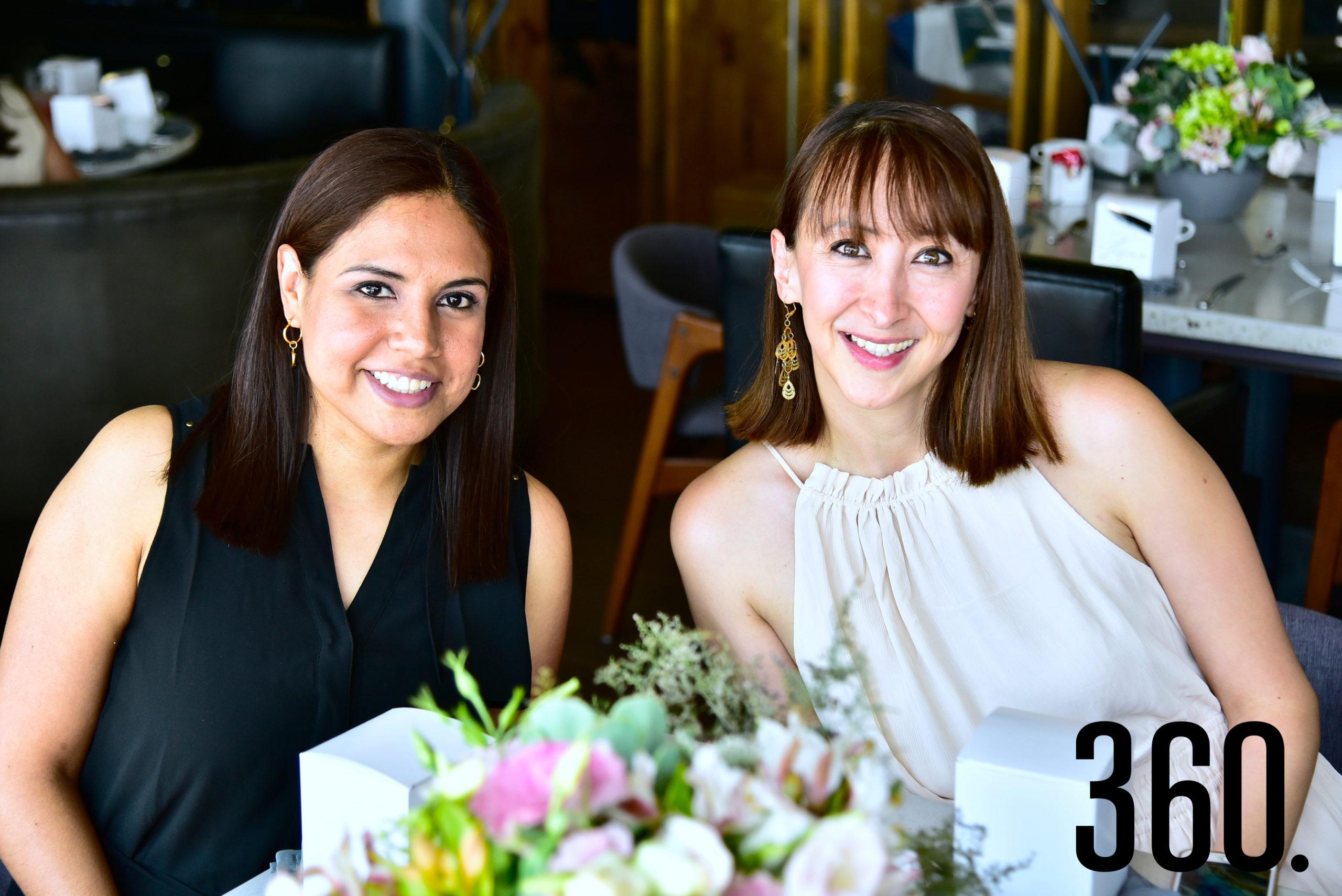 Karla Alfaro y Gaby Salinas.