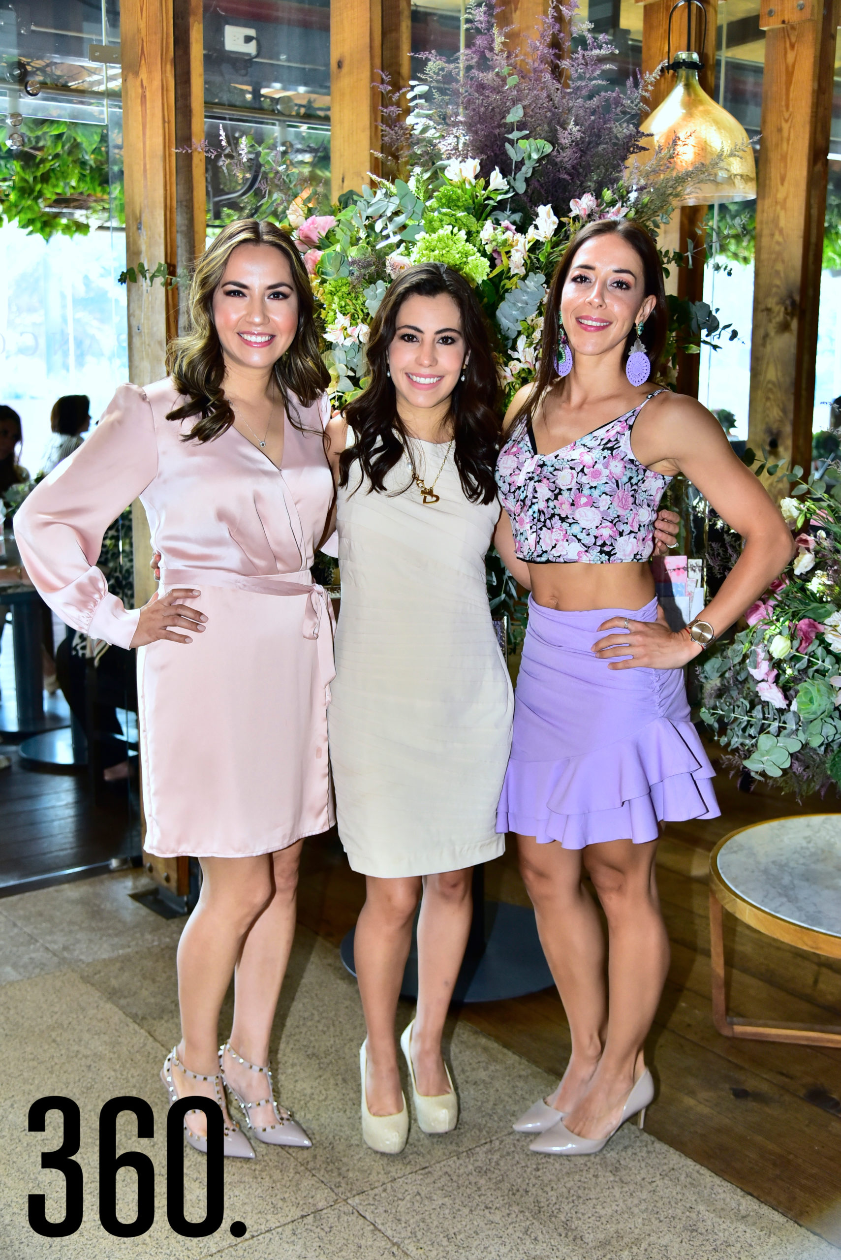 Cynthia Villanueva, Yesica Rivera y Erika Silveira.
