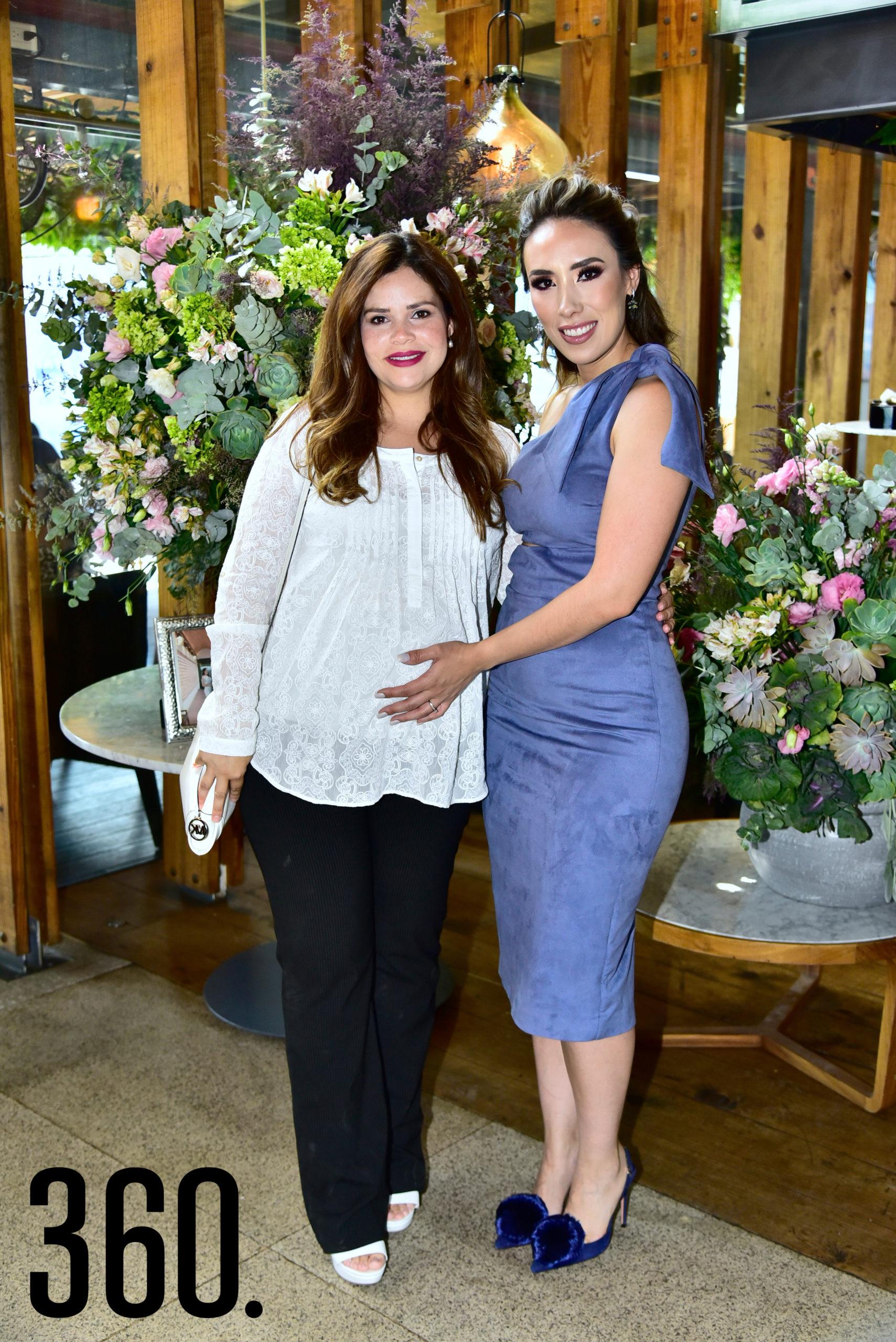 Caty Díaz y Lorena Villanueva.