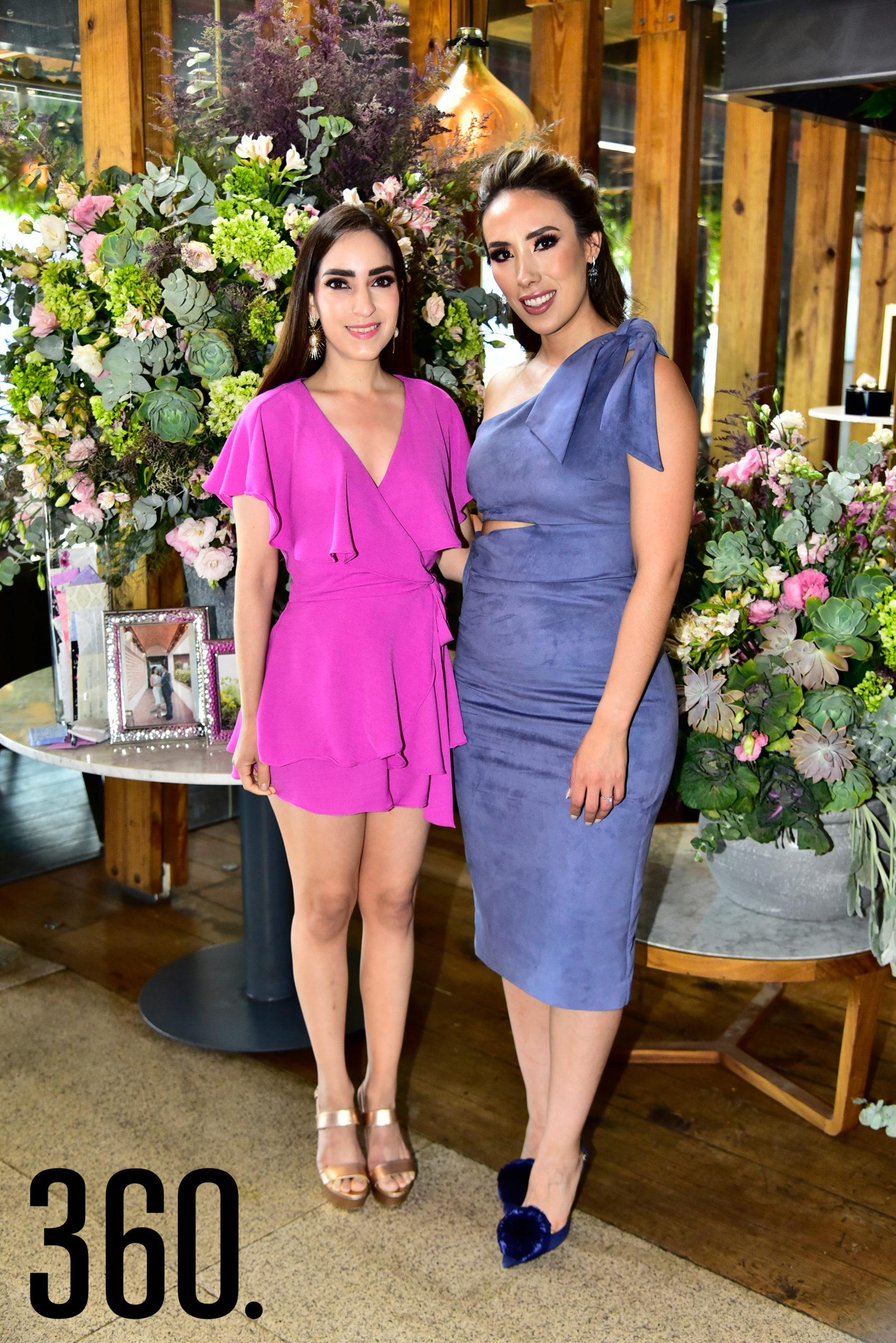Ceci Aguirre y Lorena Villanueva.