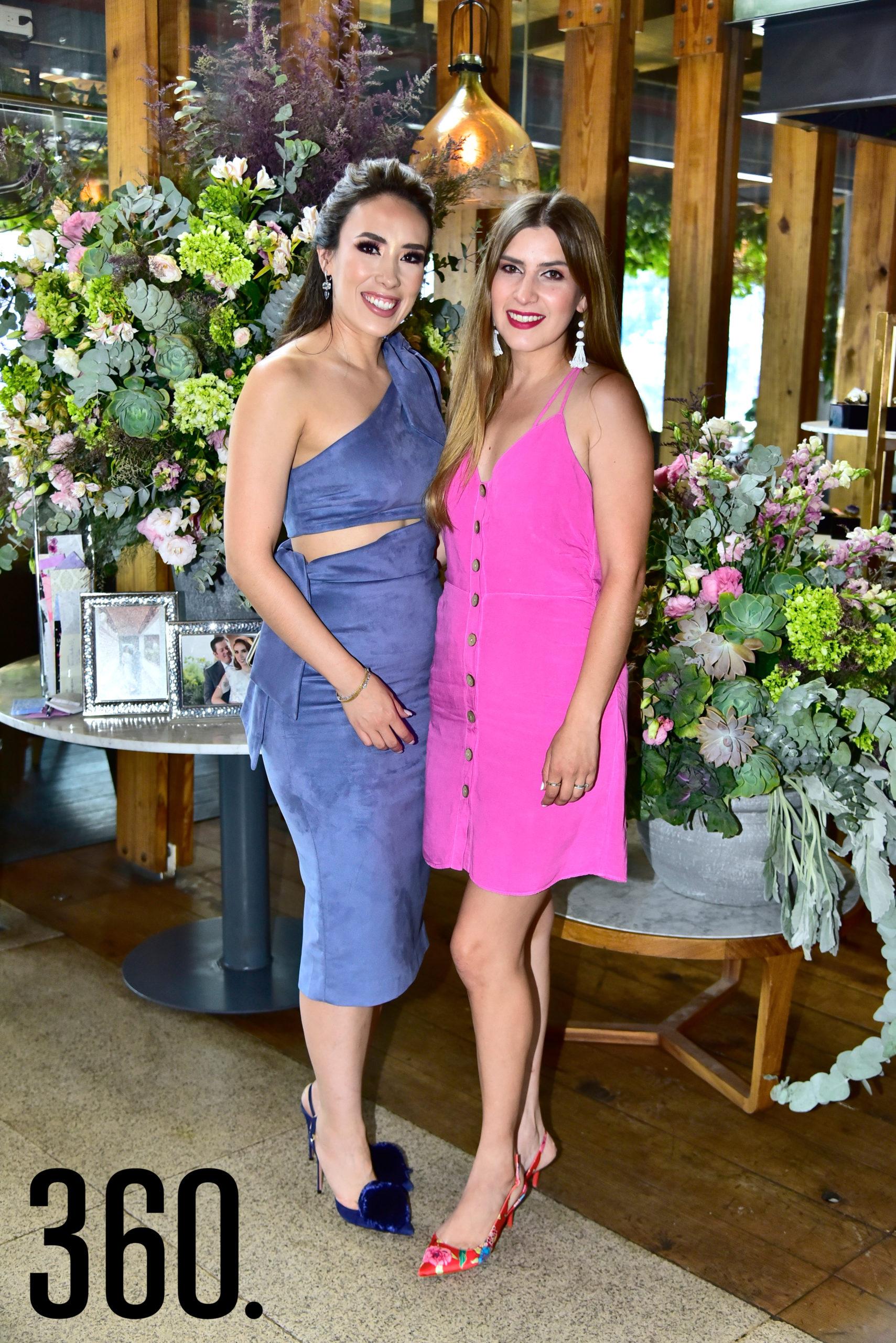 Lorena Villanueva y Mónica Lozano.