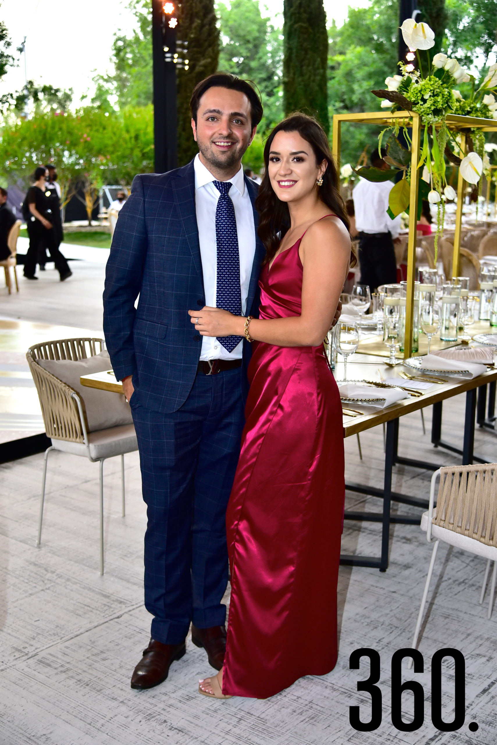 Félix Rojas y Cordelia Bremer.