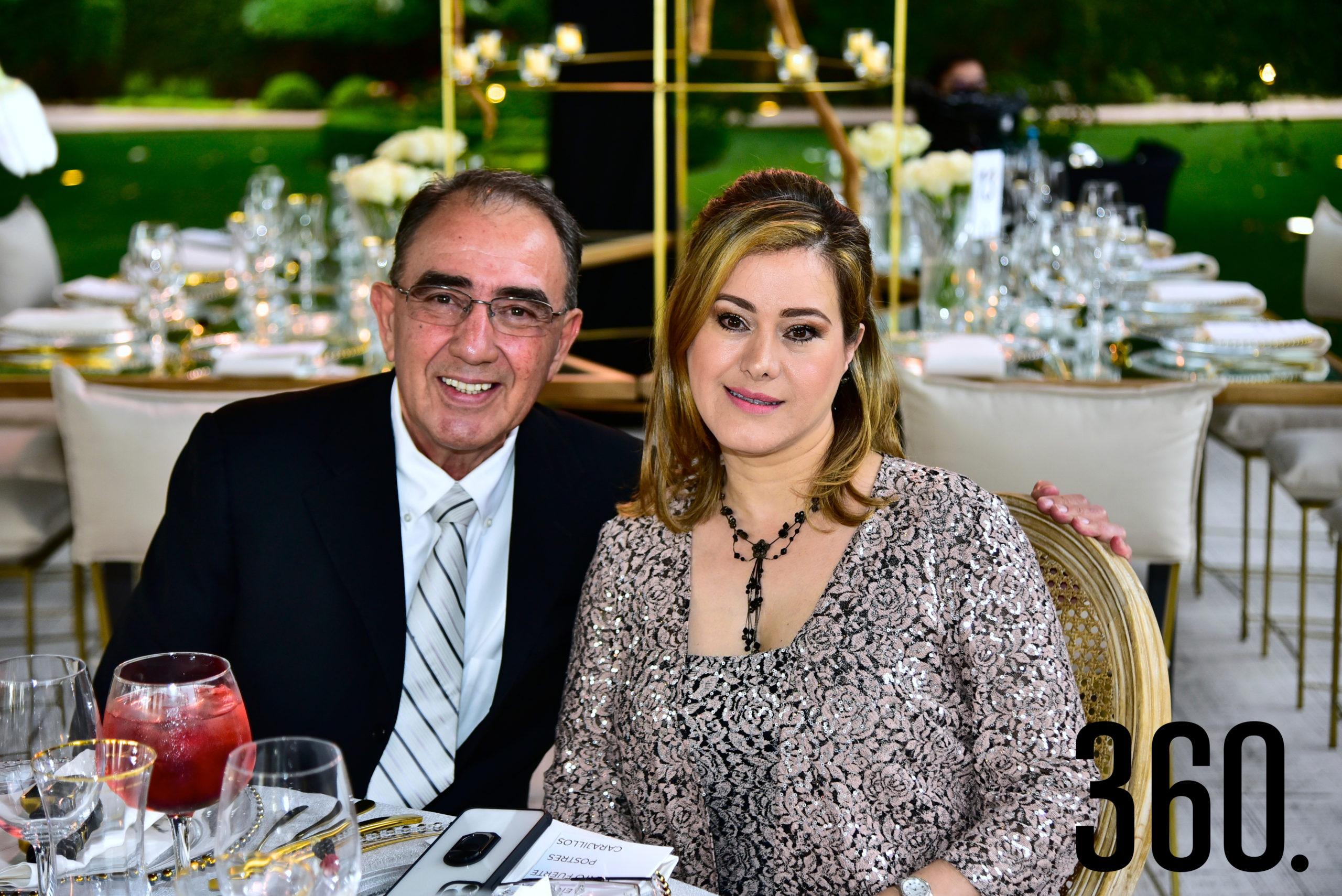 Ricardo Cárdenas Aguirre y Ana Lucía Garza de Cárdenas.