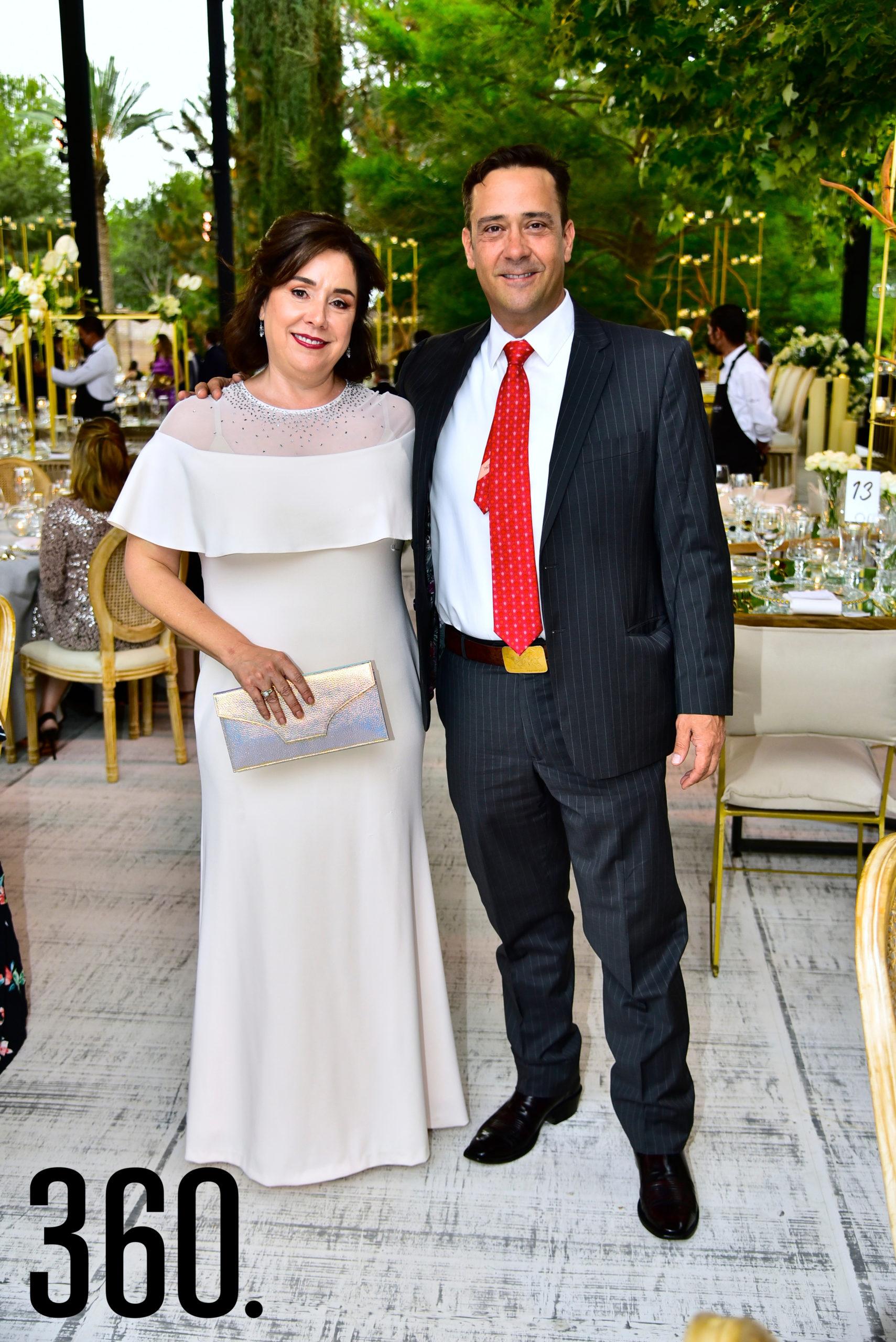 Luisa Castilla y Juan Carlos Guerra.