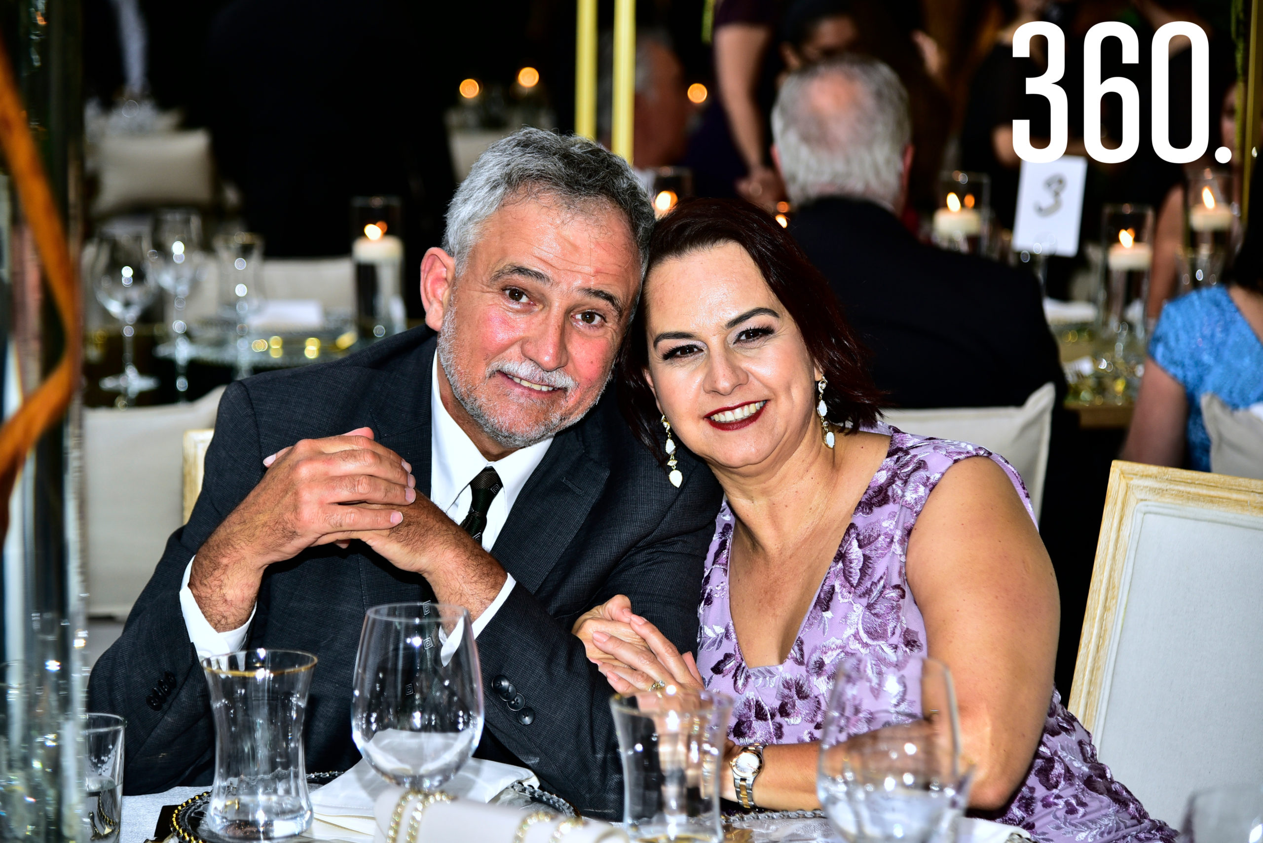José Humberto Dávila y Silvia Arsuaga.