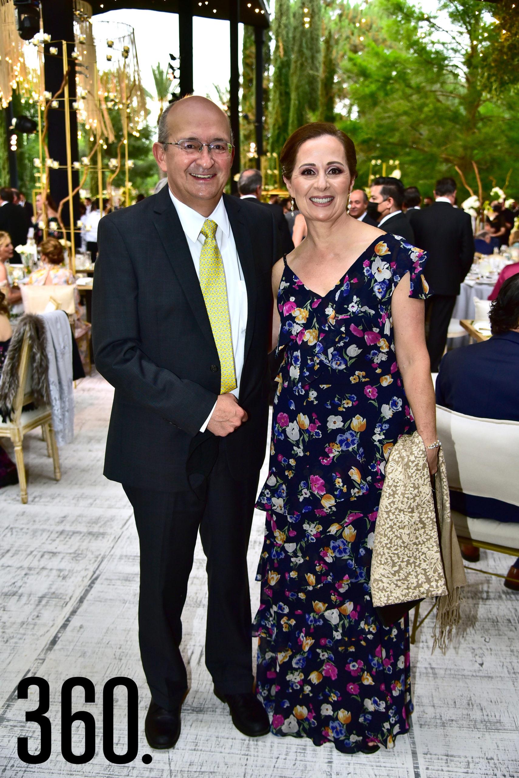 Ismael Ramos y Elsa Arsuaga.