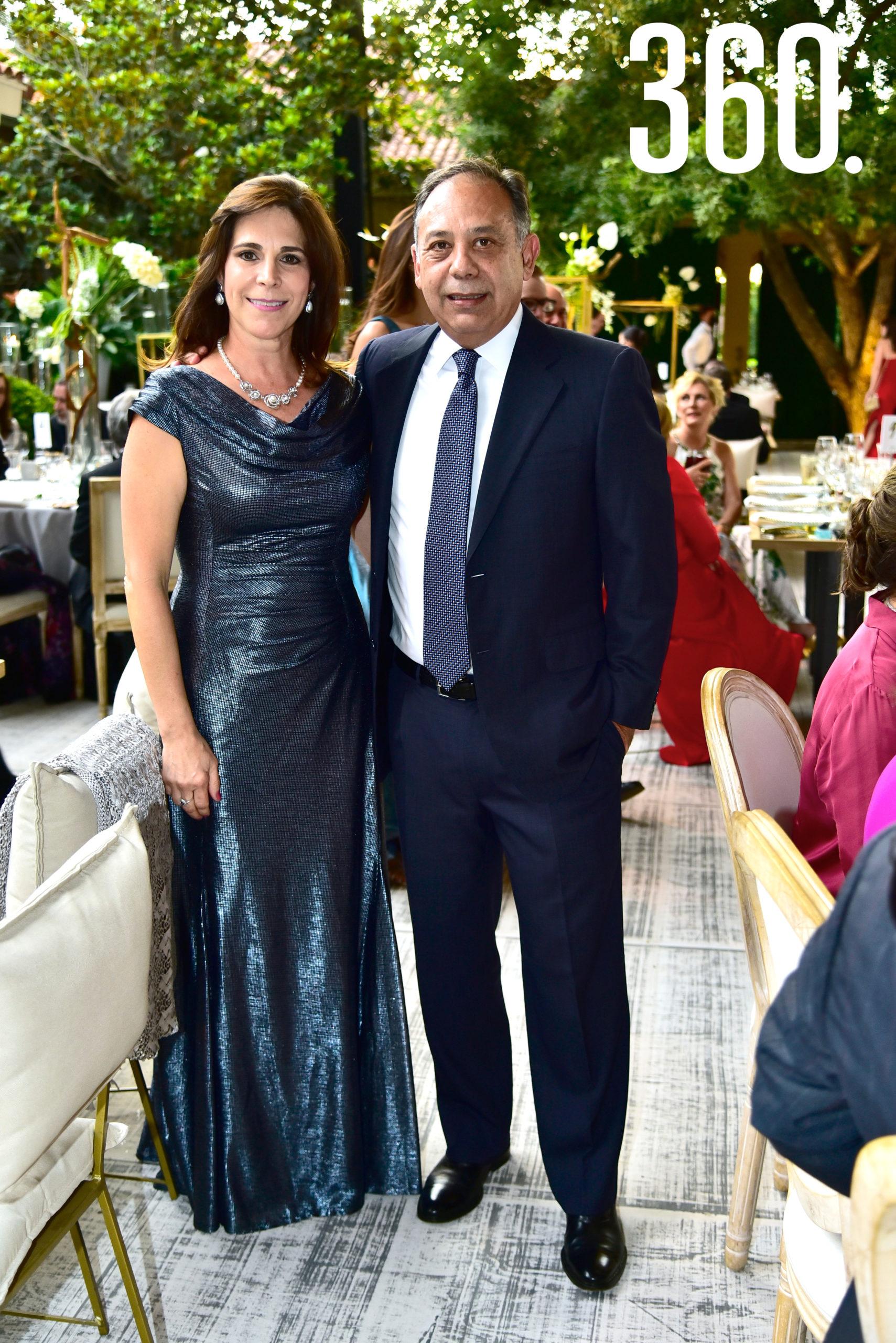 Leticia Ochoa y Jorge del Bosque.