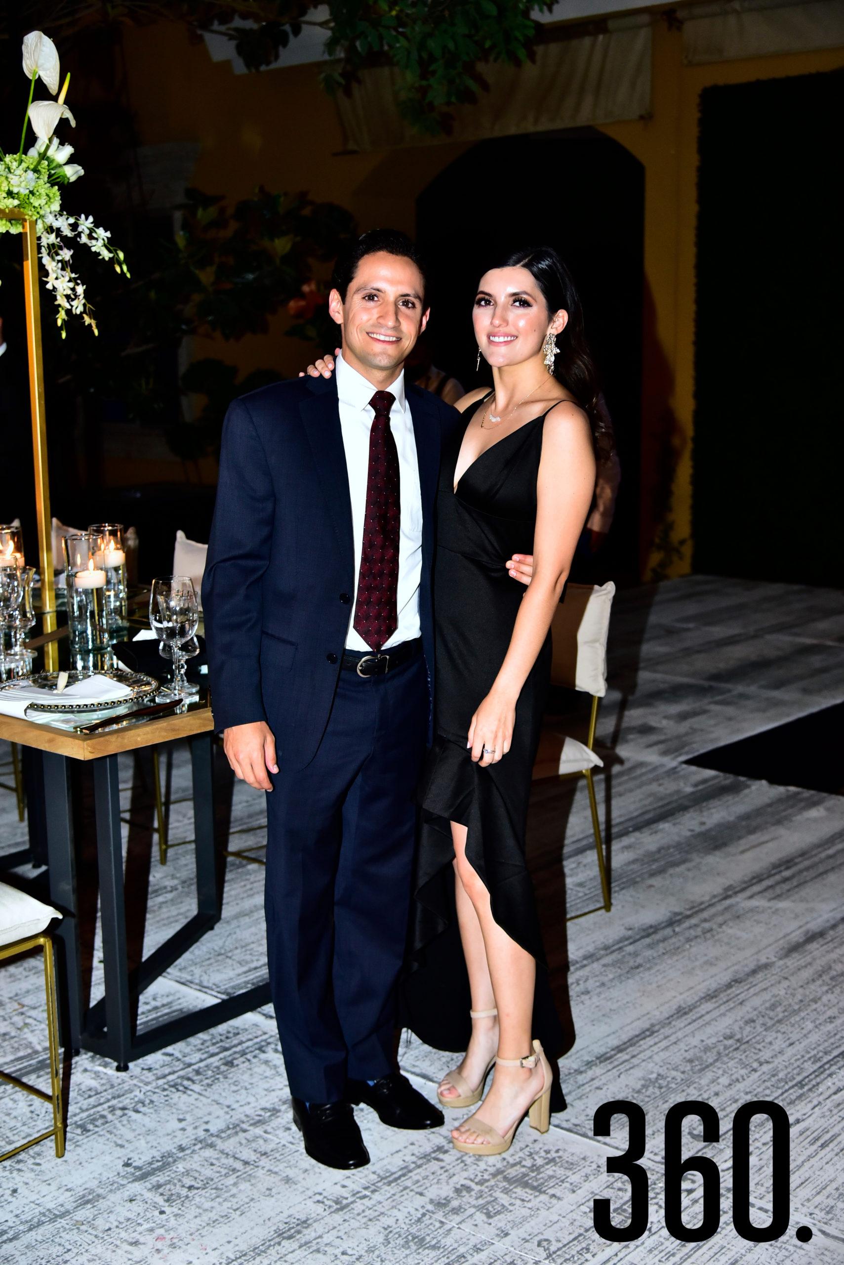 Alejandro Salinas y Marcela Rodríguez.