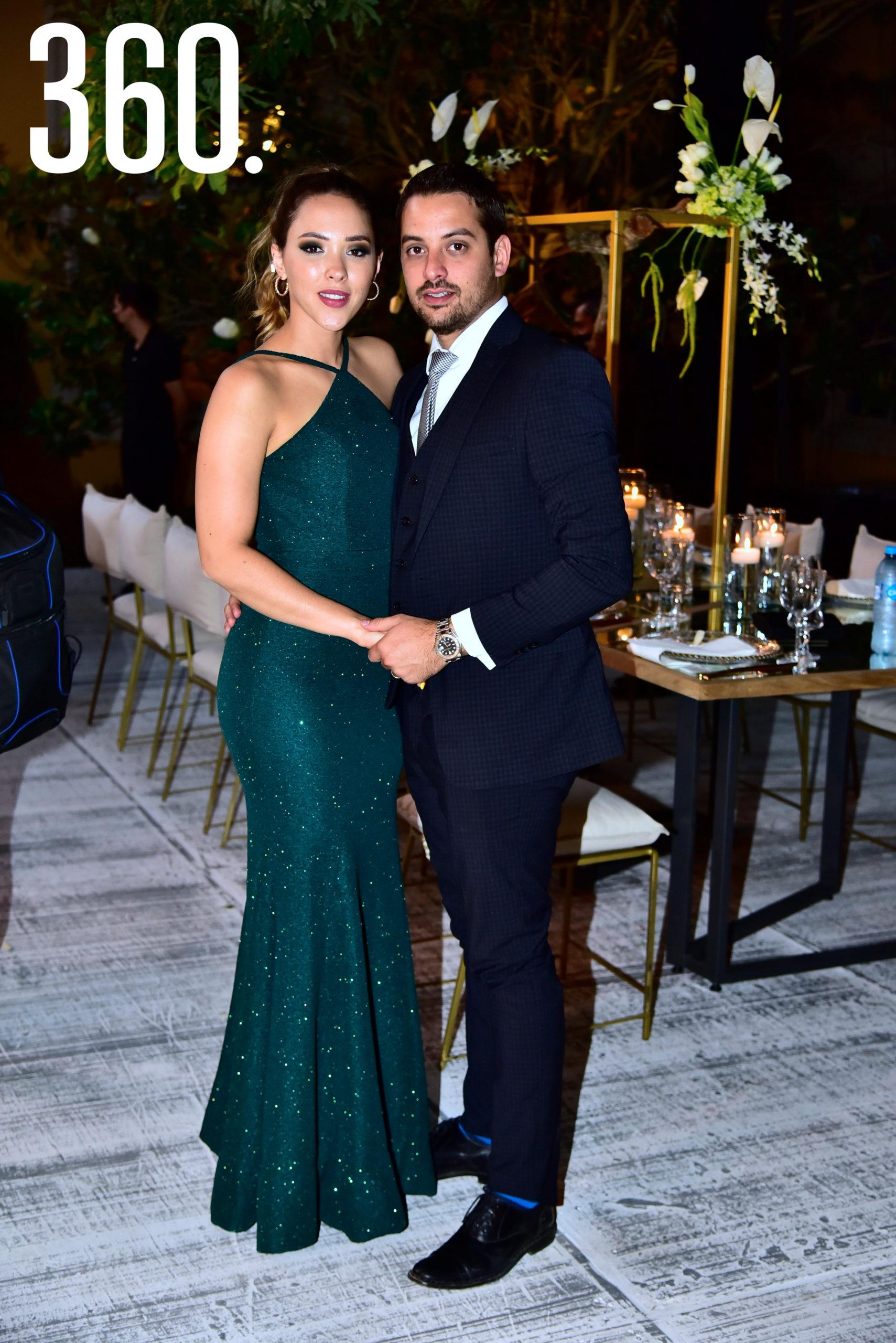 Melissa López y Jesús de León.