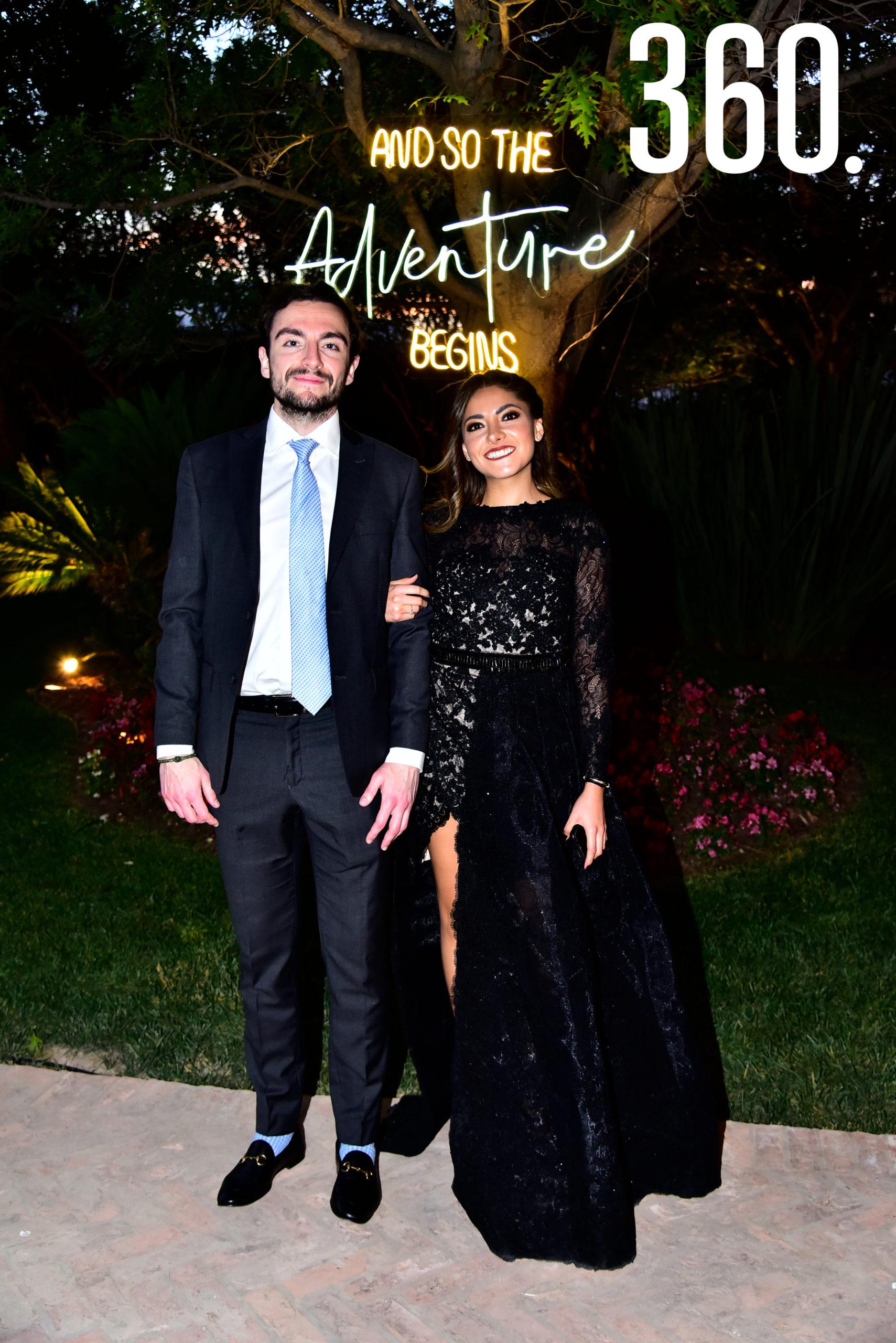 Pablo Delgado y Jimena Alvares.