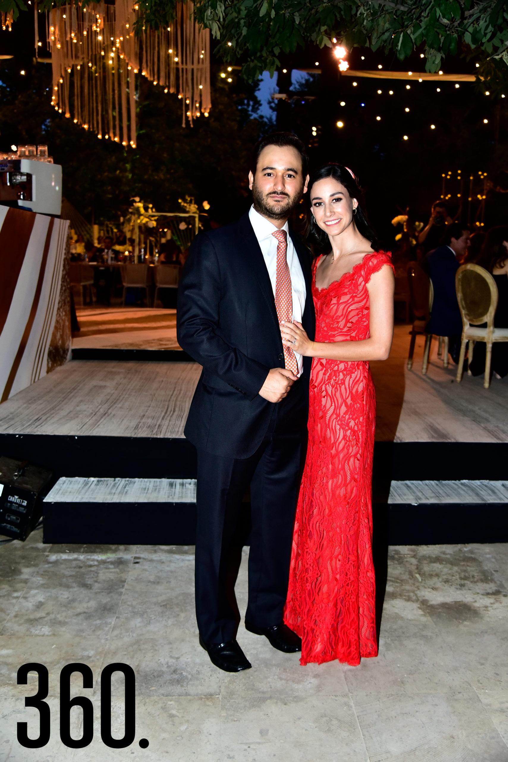 Ricardo Diego y Mari Gaby Morales.