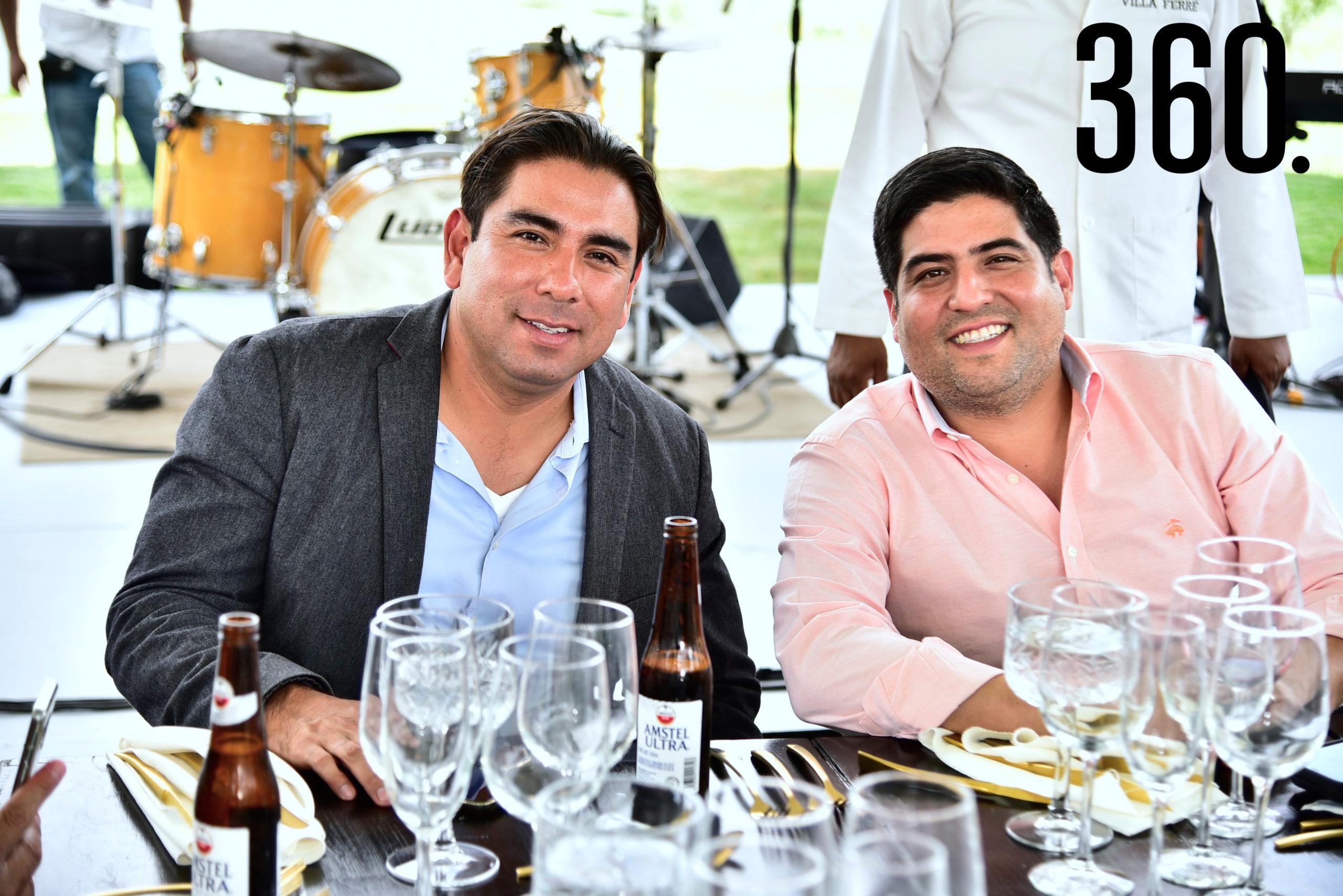 Isidoro García y Juan Pablo Valdés.