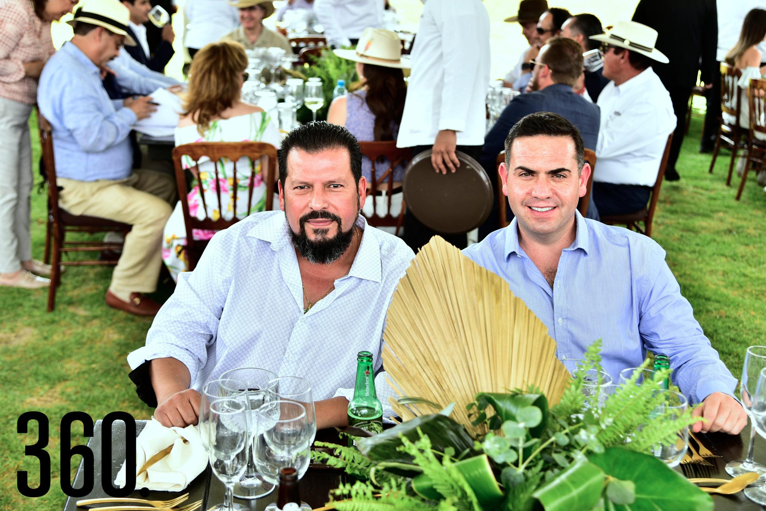 Sergio Treviño y Alberto Salinas.