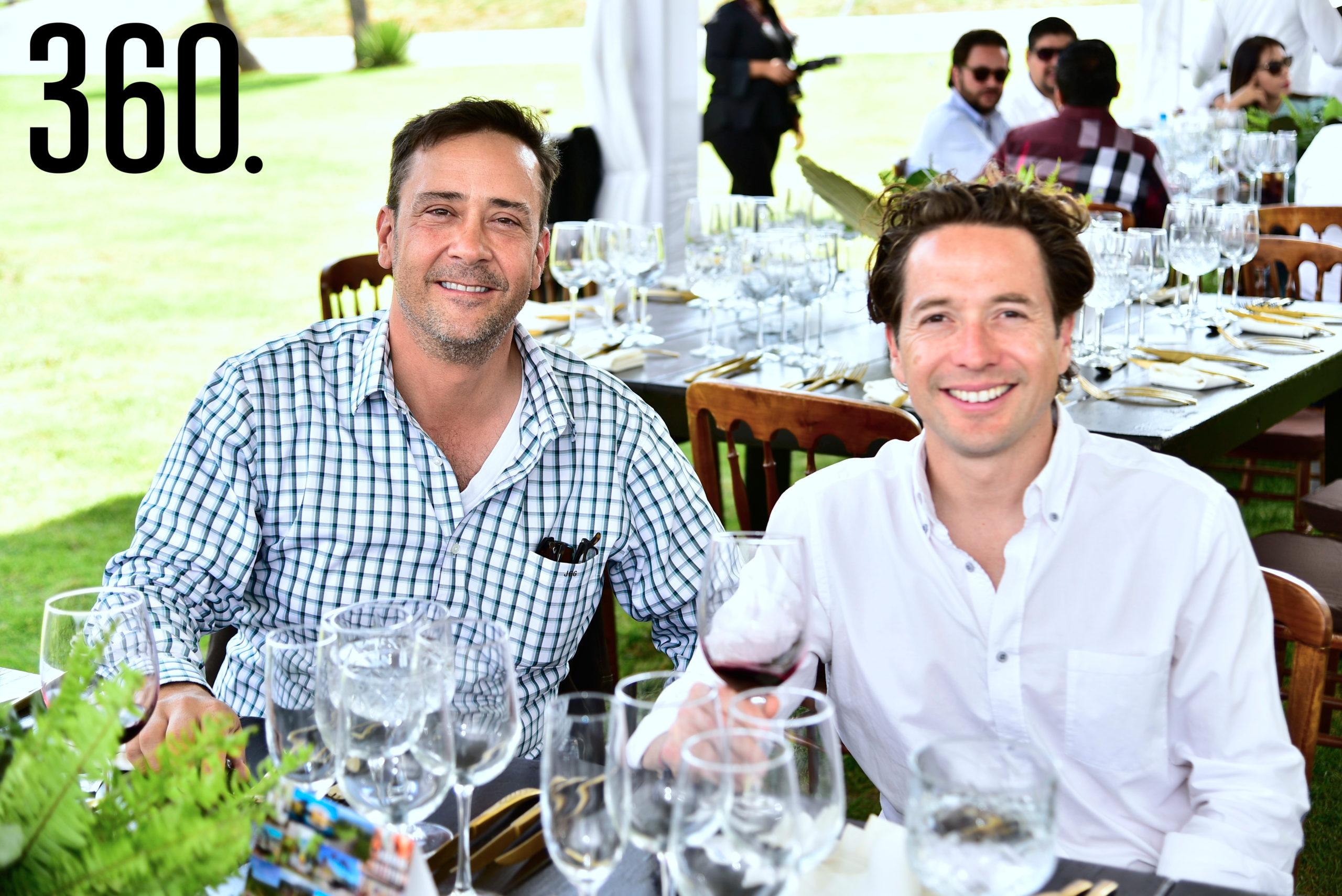 Juan Carlos Guerra y Abel Ramírez.