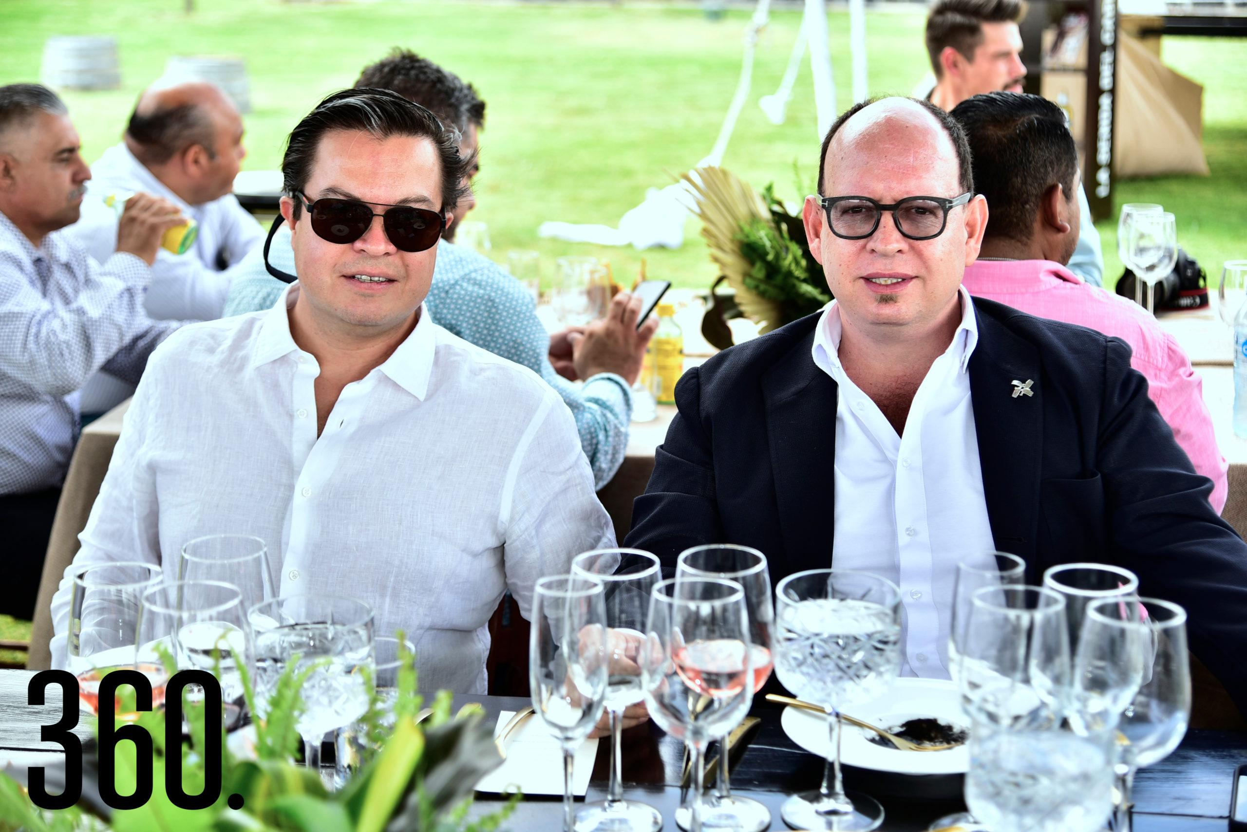 Fernando Figueroa y Luis Javier Cué.