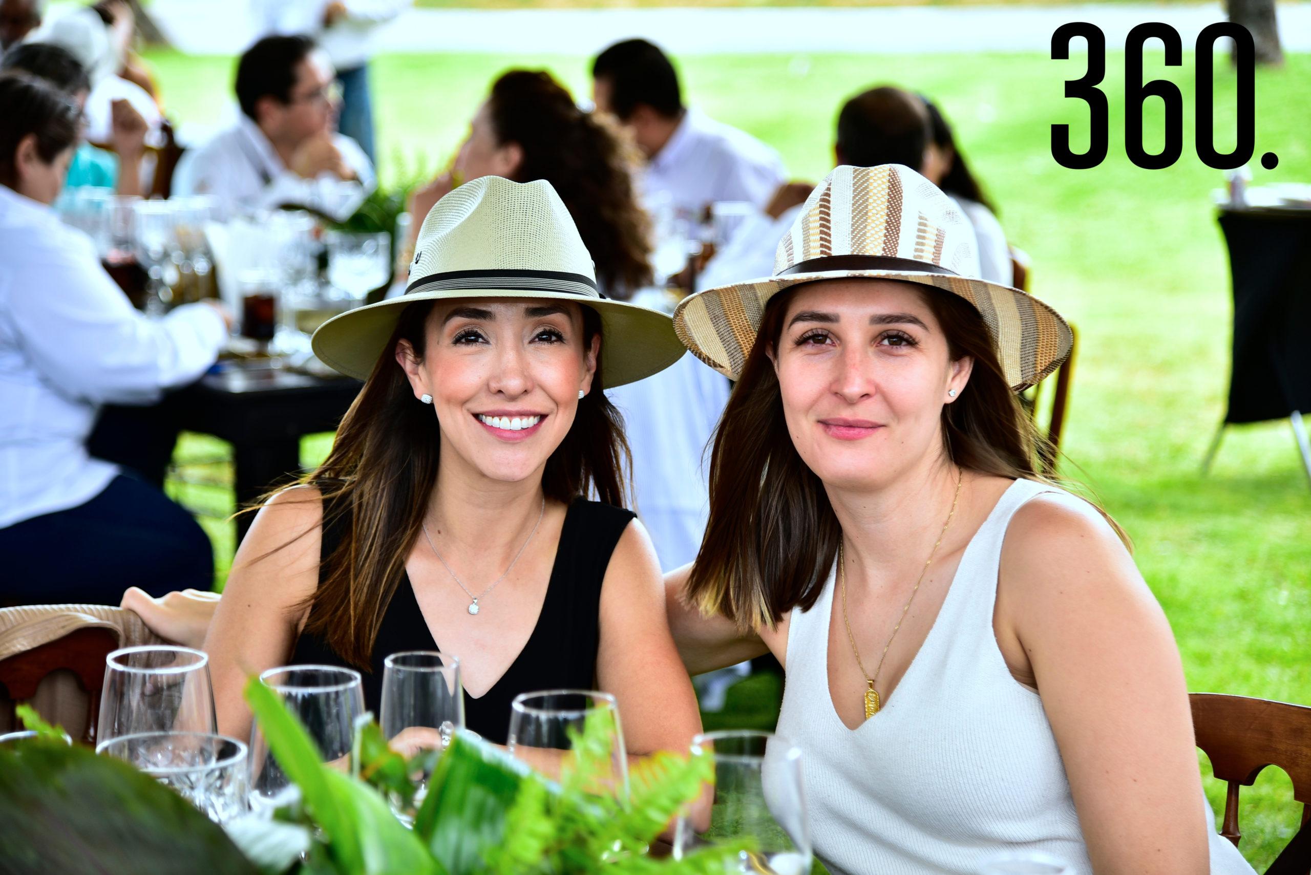 Miriam Luna y Ana Emilia Pérez.