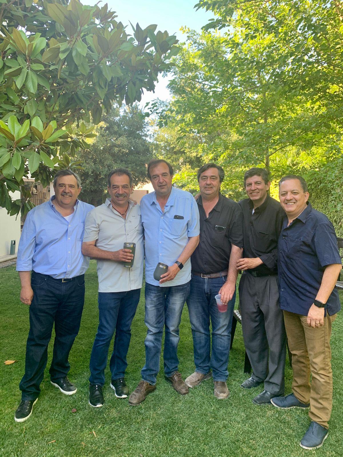 Alejandro Dávila, Rodrigo del Bosque, Daniel Torres, Miguel Ortiz de Montellano, Luis Eduardo Villaseñor y Carlos Enrique Olvera.