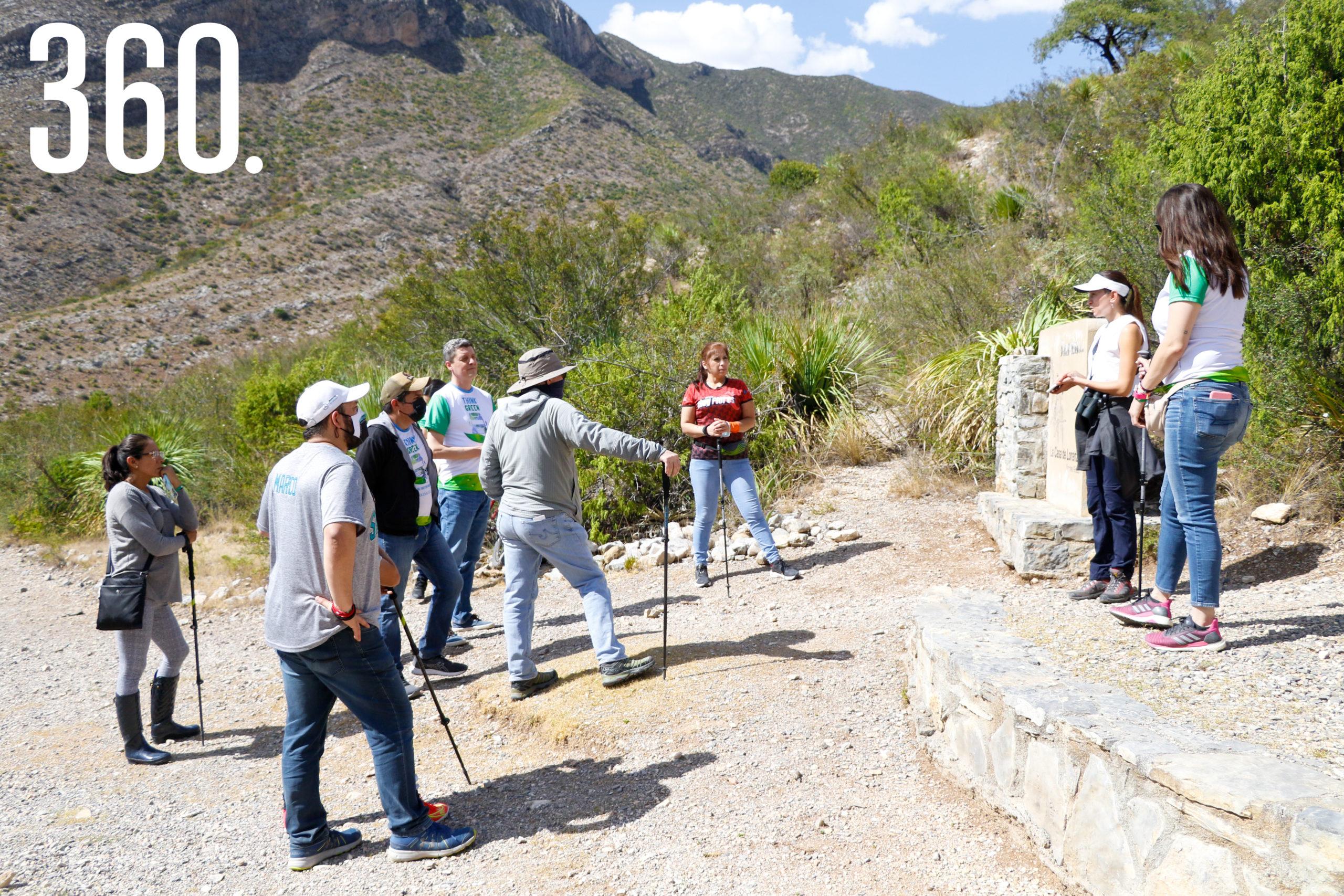 Visitantes disfrutaron de la naturaleza.