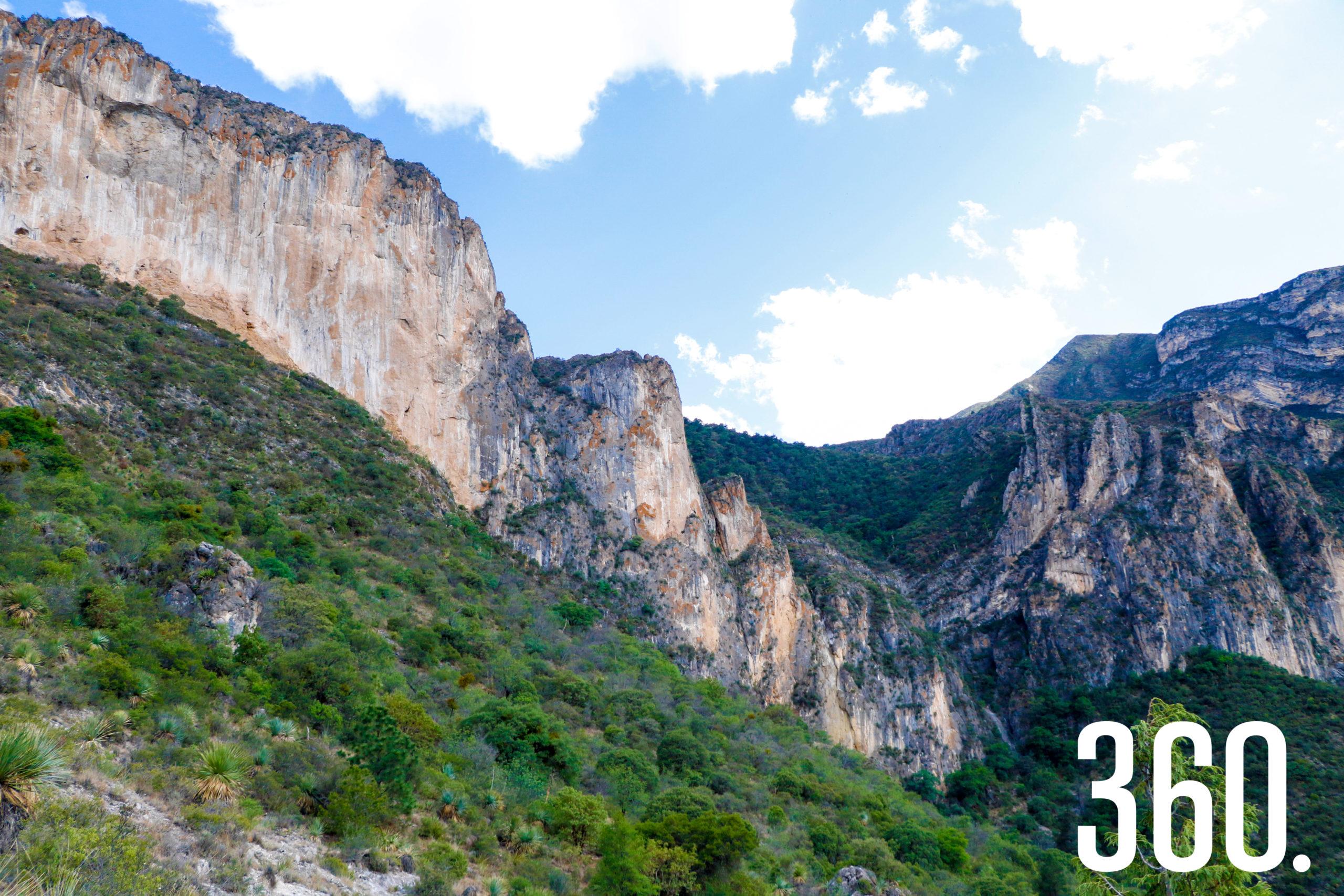 El cañón de San Lorenzo es uno de los tesoros naturales más grandes de Saltillo.