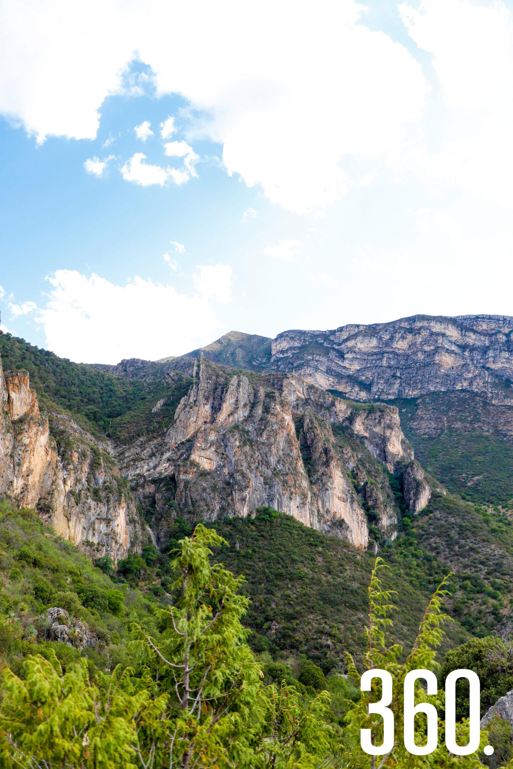 Cañón de San Lorenzo.