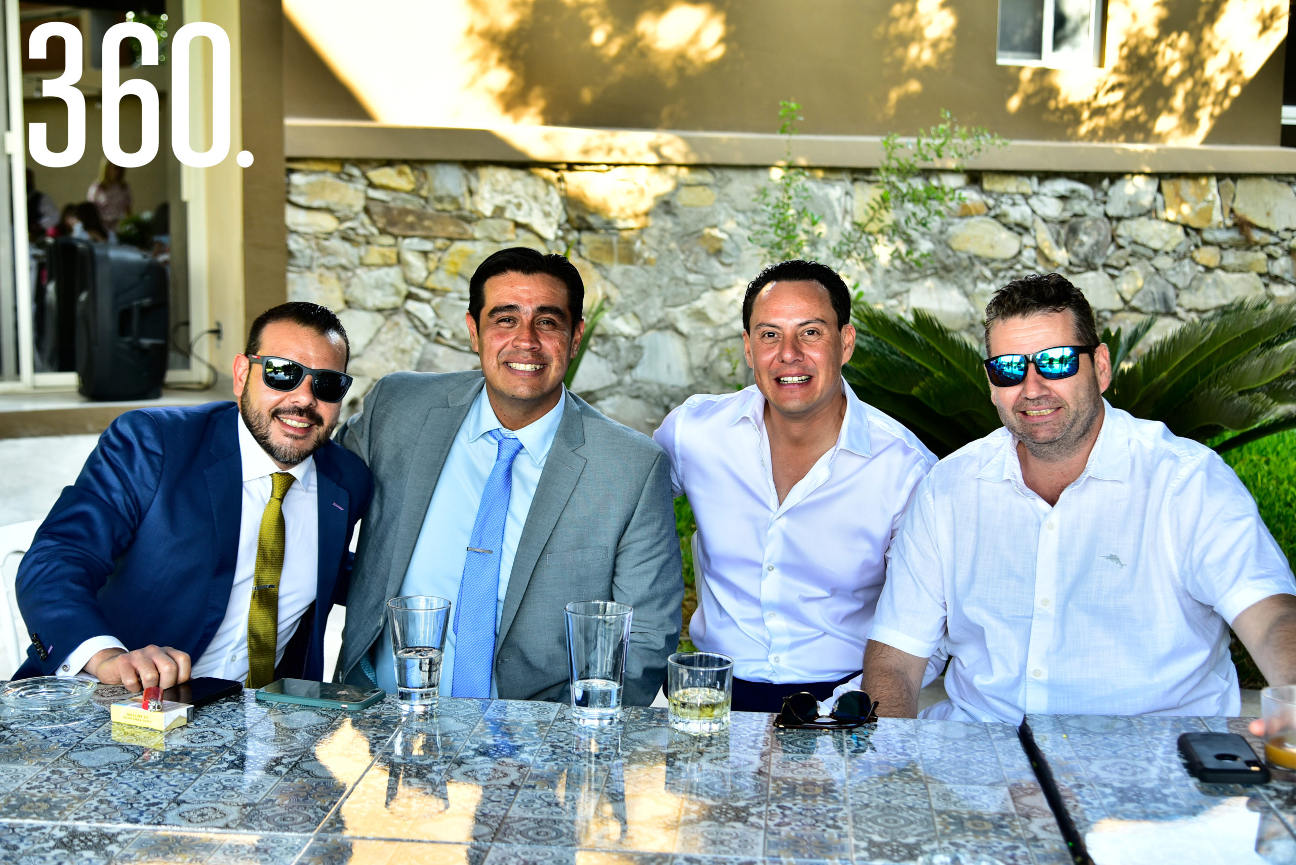 Jamir Ramírez, José Ramón Martínez, Pedro Treviño y Carlos Saucedo.