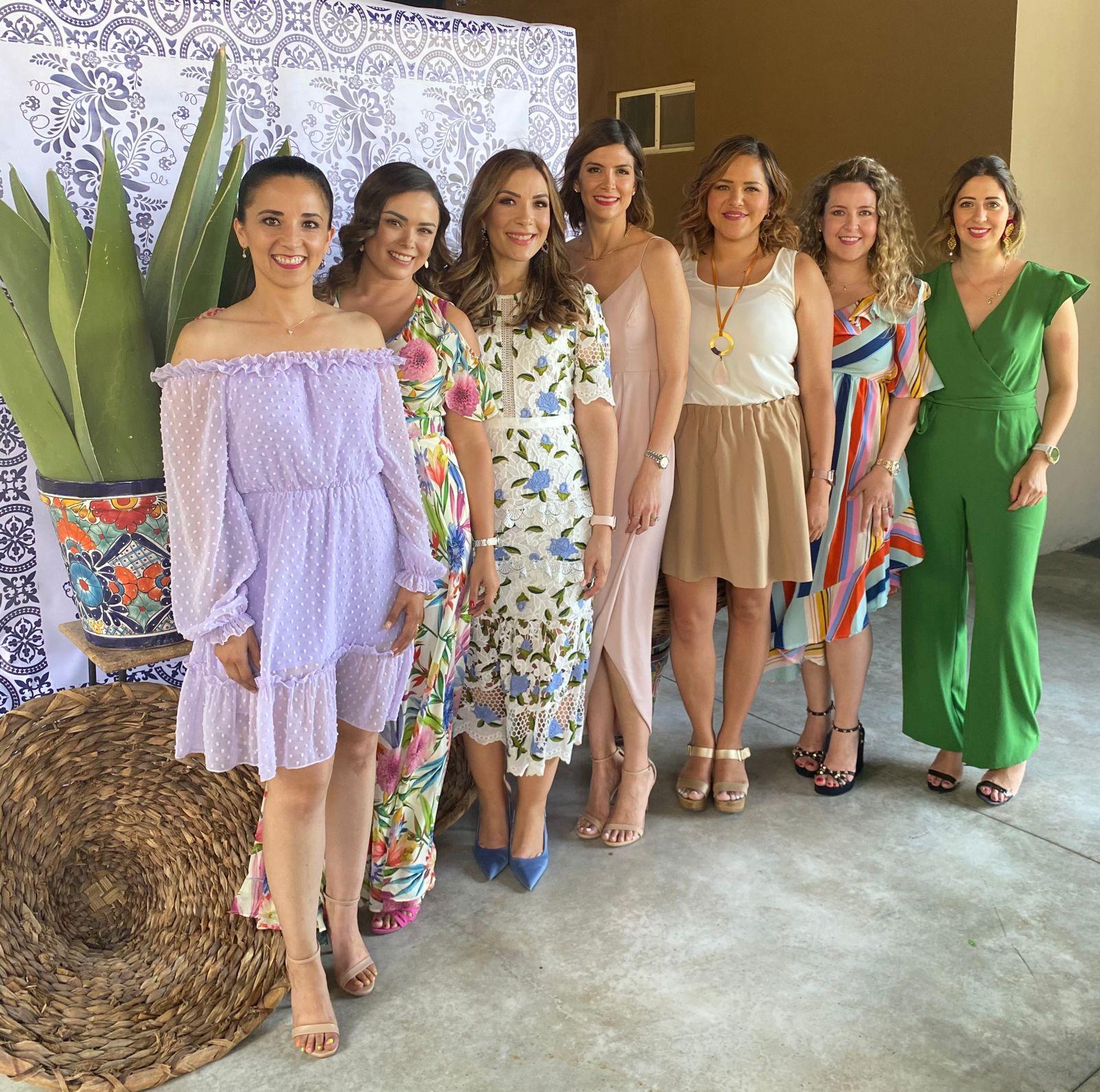 Wendy Castañeda, Lesly Dewey, Beatriz Carrillo, Adriana Rodríguez, Nicte Guerrero, Romy Valdés y Yussel Lozano.