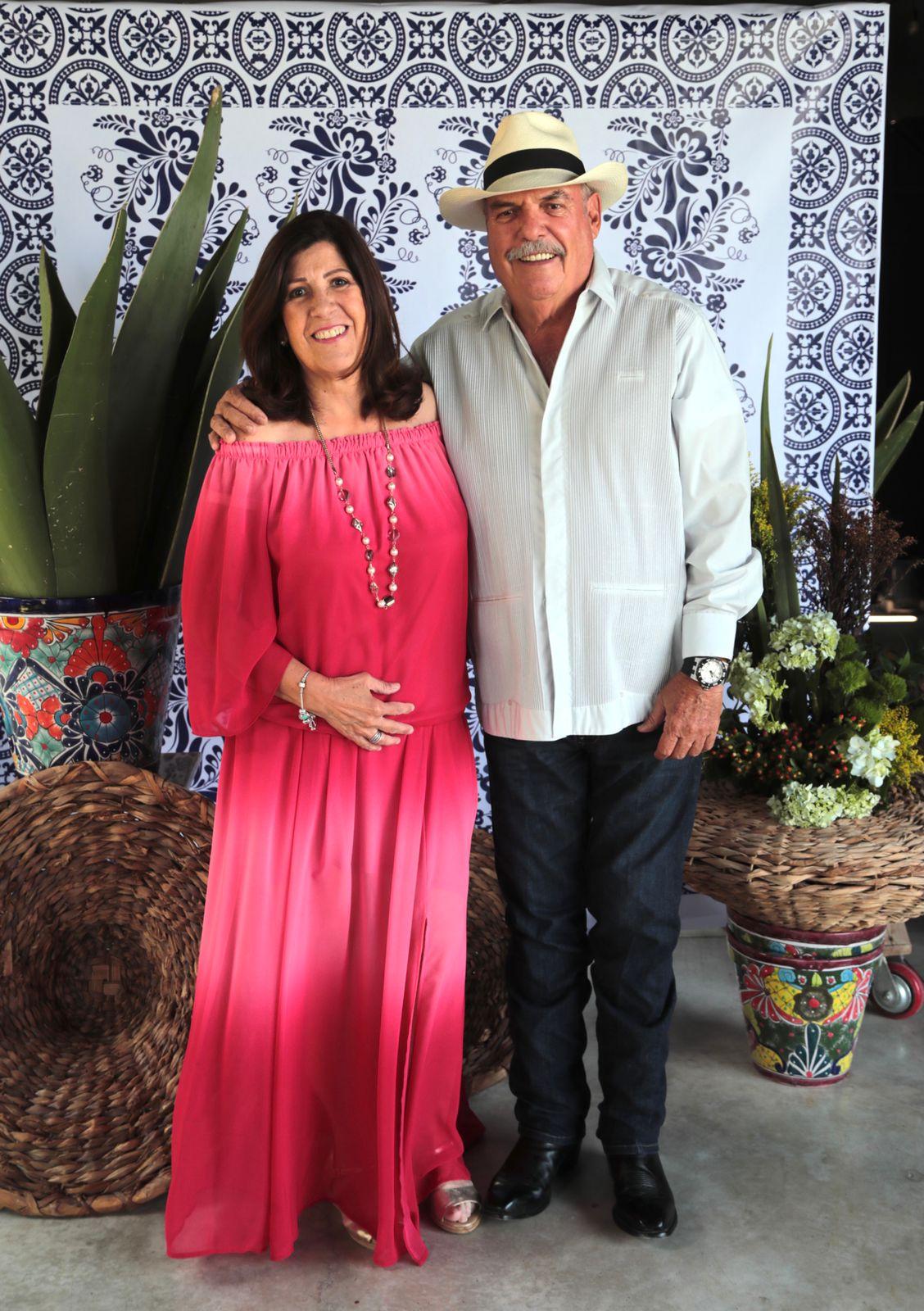 Silvia Amezcua y Román Cepeda.