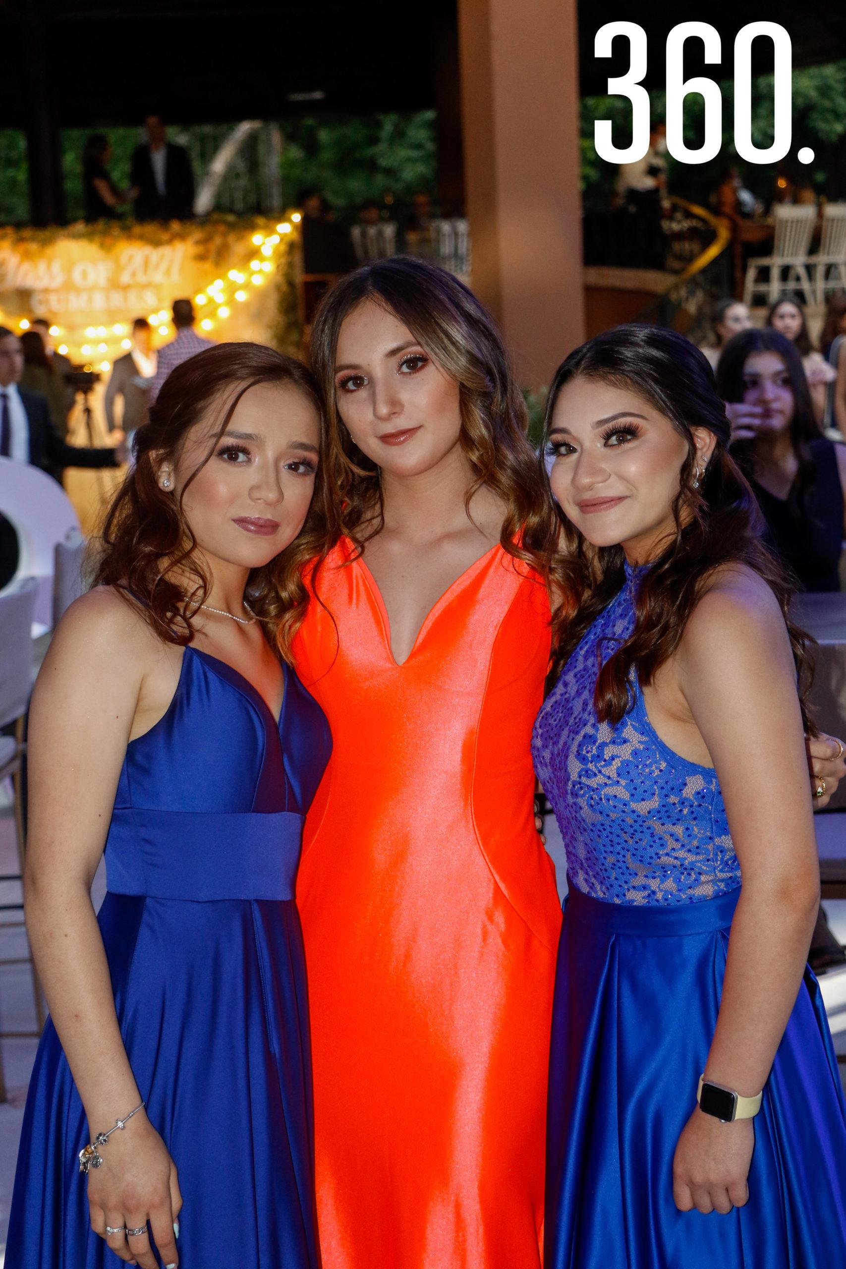 Ana Karla Cantú, Ania Padilla y Ximena González.