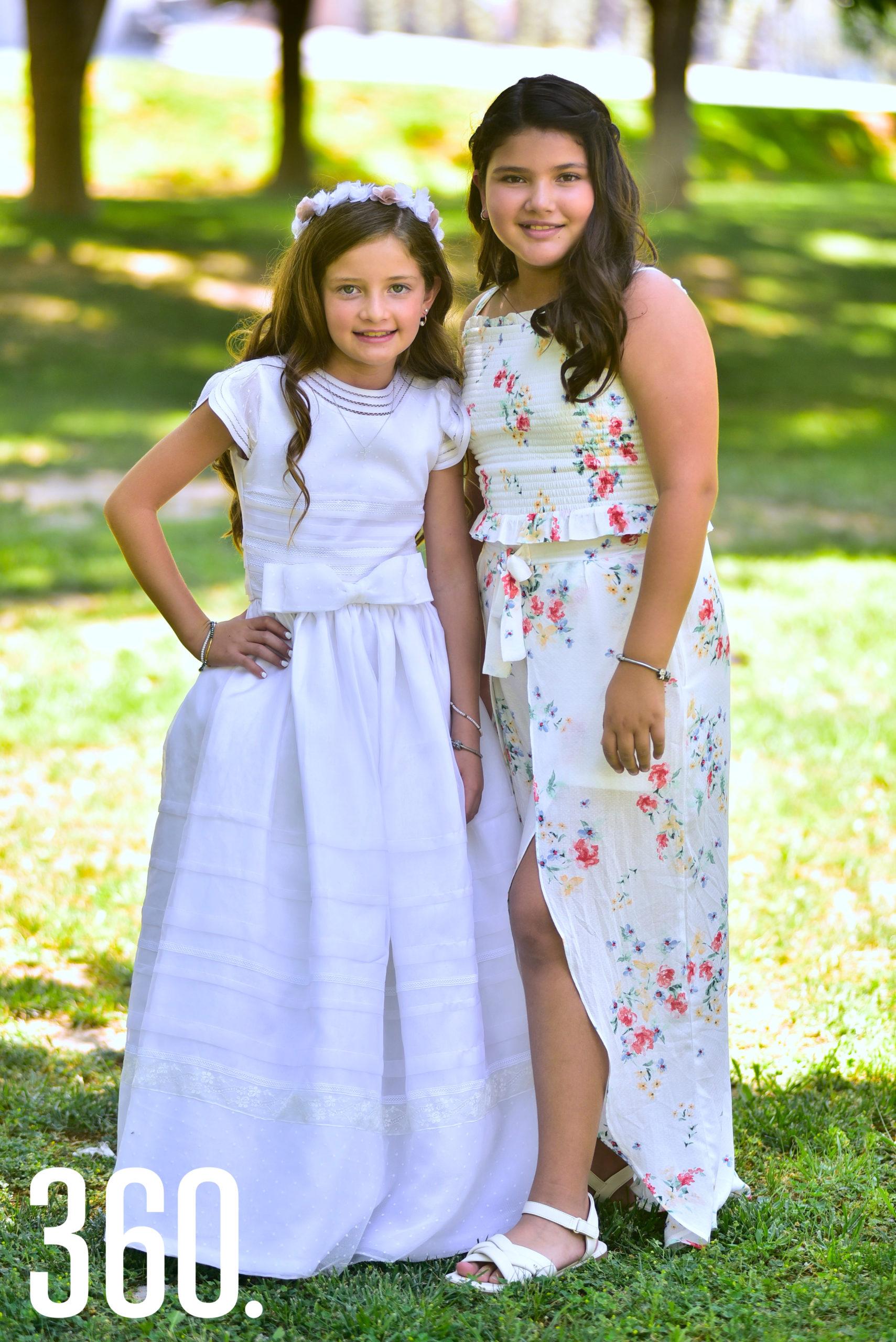 Isabella Gold Rodríguez y su hermana Loretta Gold.