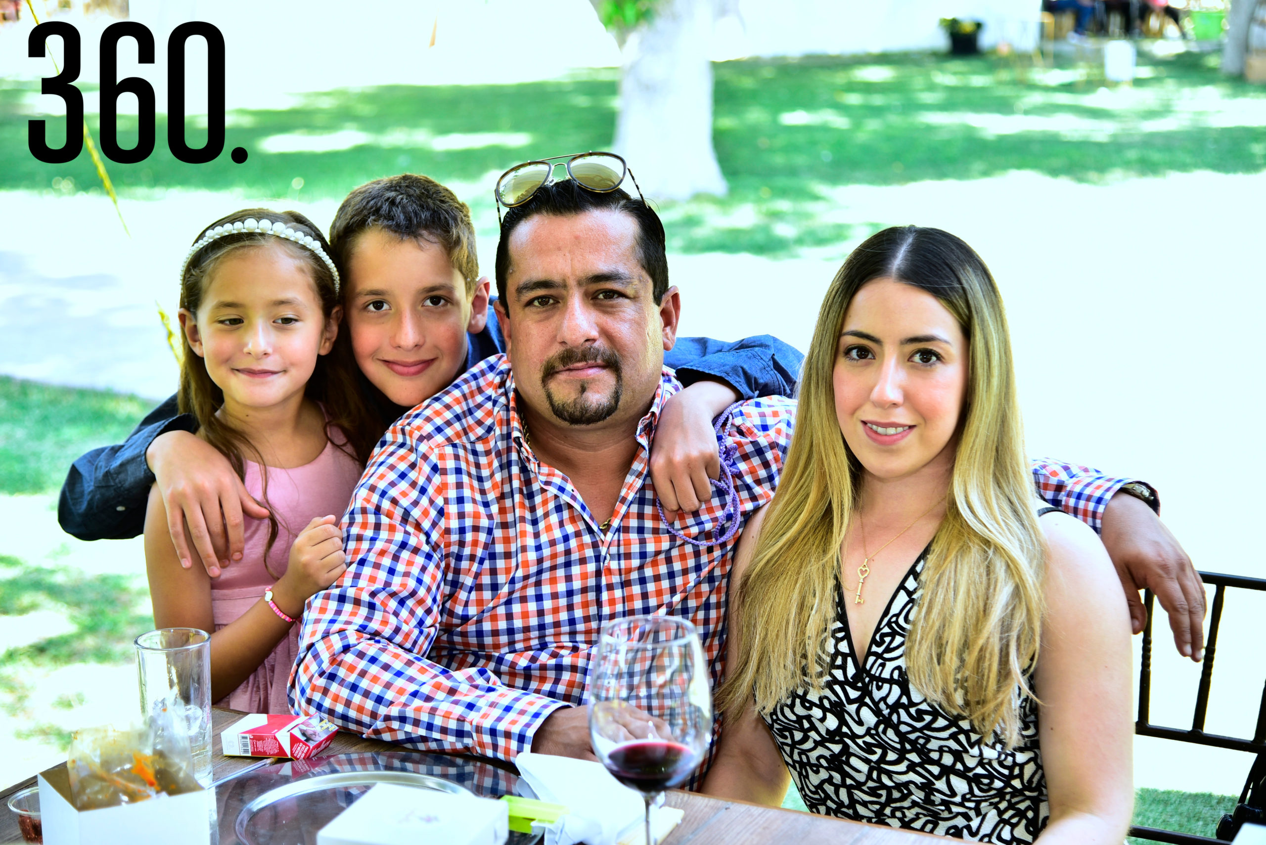 Familia Ramos Jiménez.