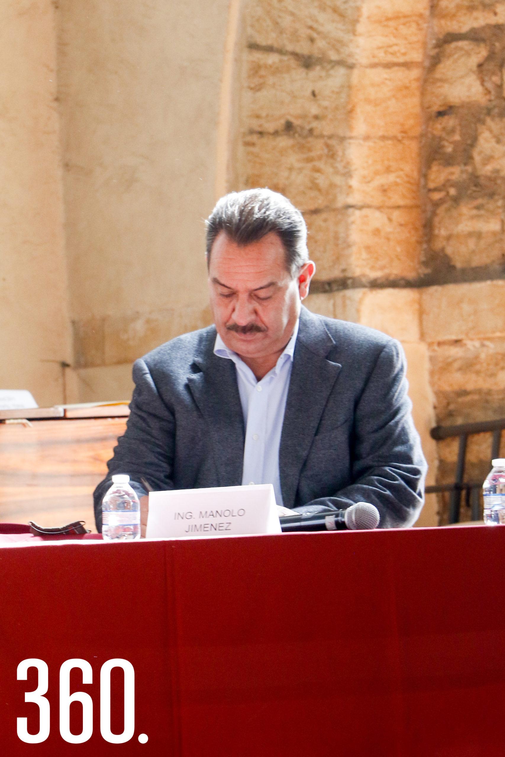 Fernando de las Fuentes, secretario de gobierno.