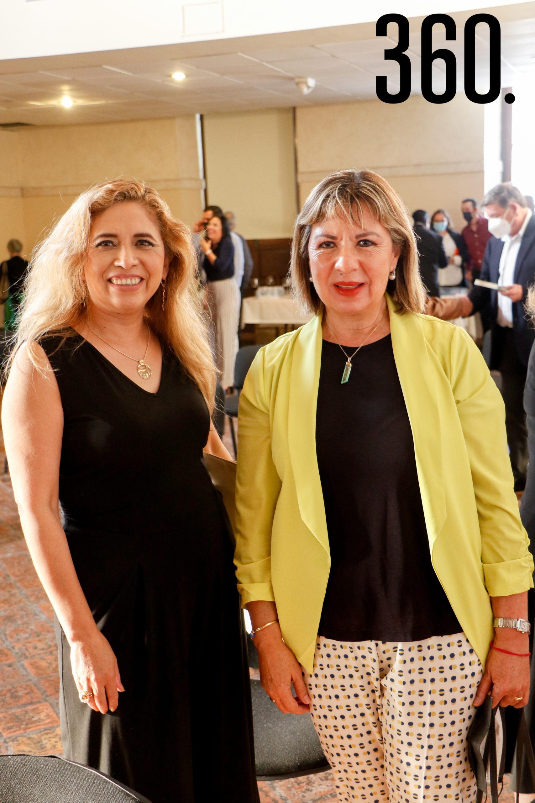 Griselda Salas y Alejandra Garza.