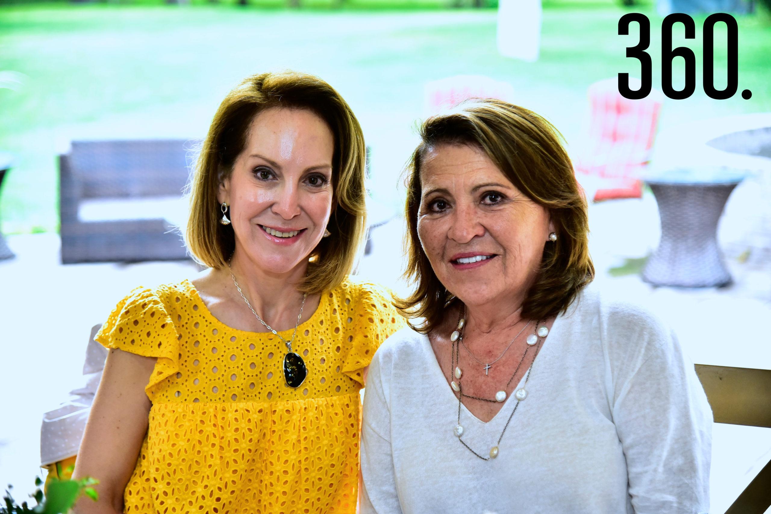 Lidia Lozano y Aída Elena López.