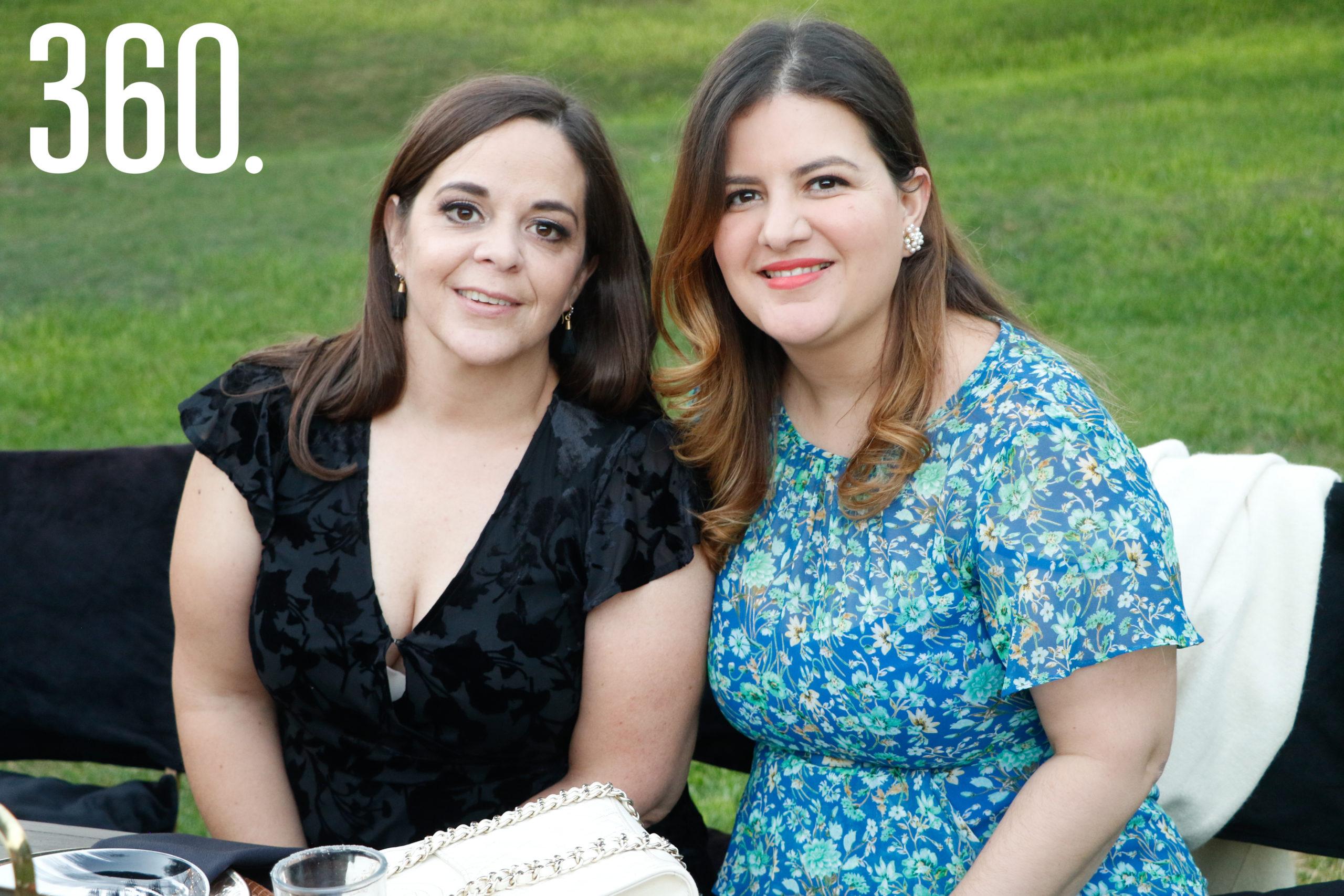 Karla Samperio y Alejandra Martínez.