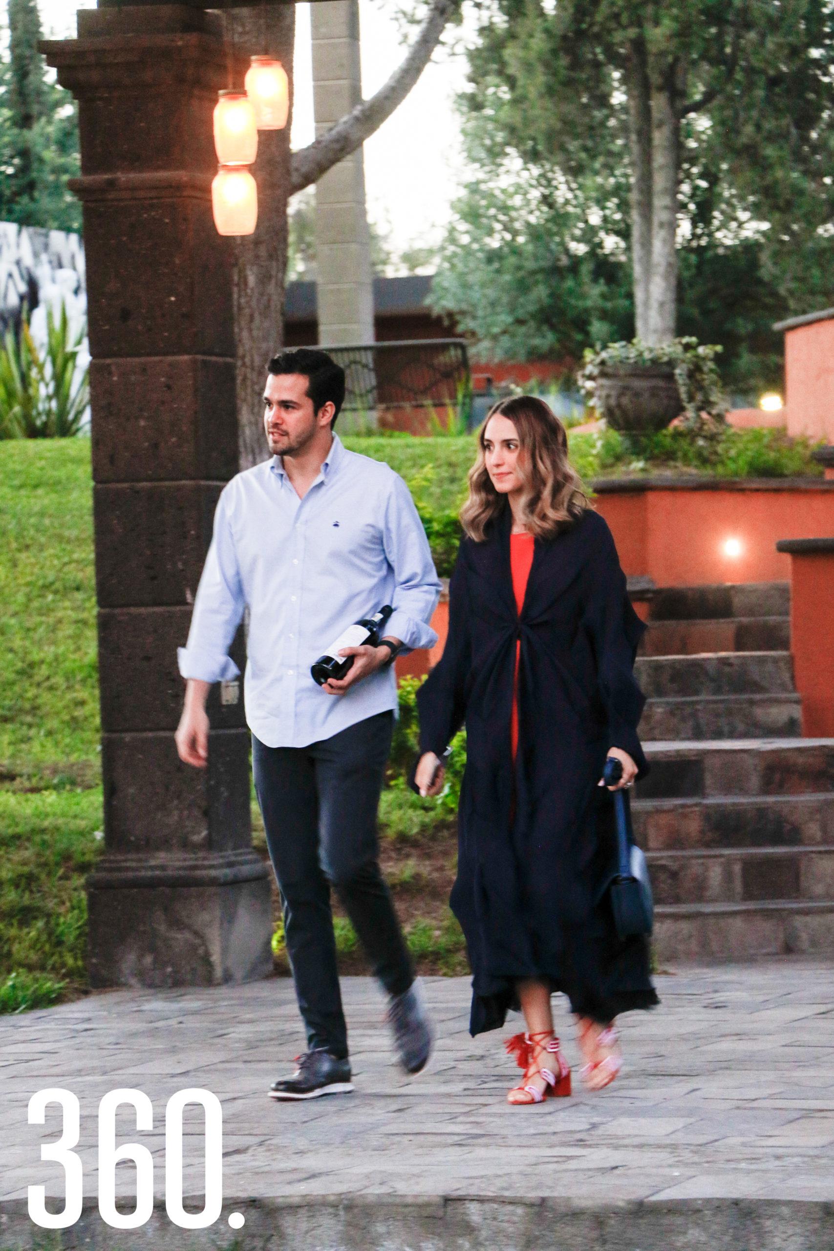 Raúl García y Beatriz Cárdenas.