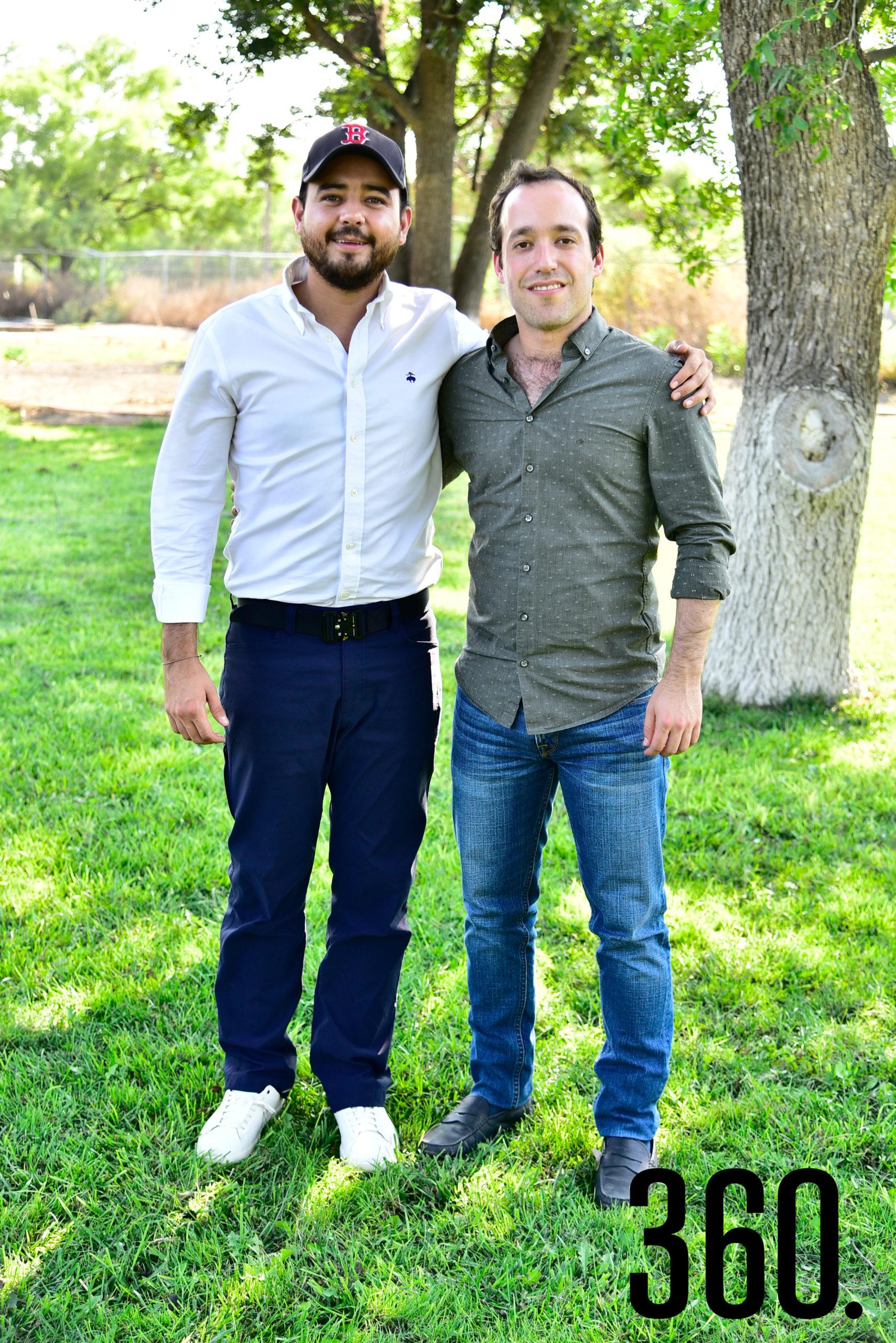 Eduardo Dávila y Gerardo López.